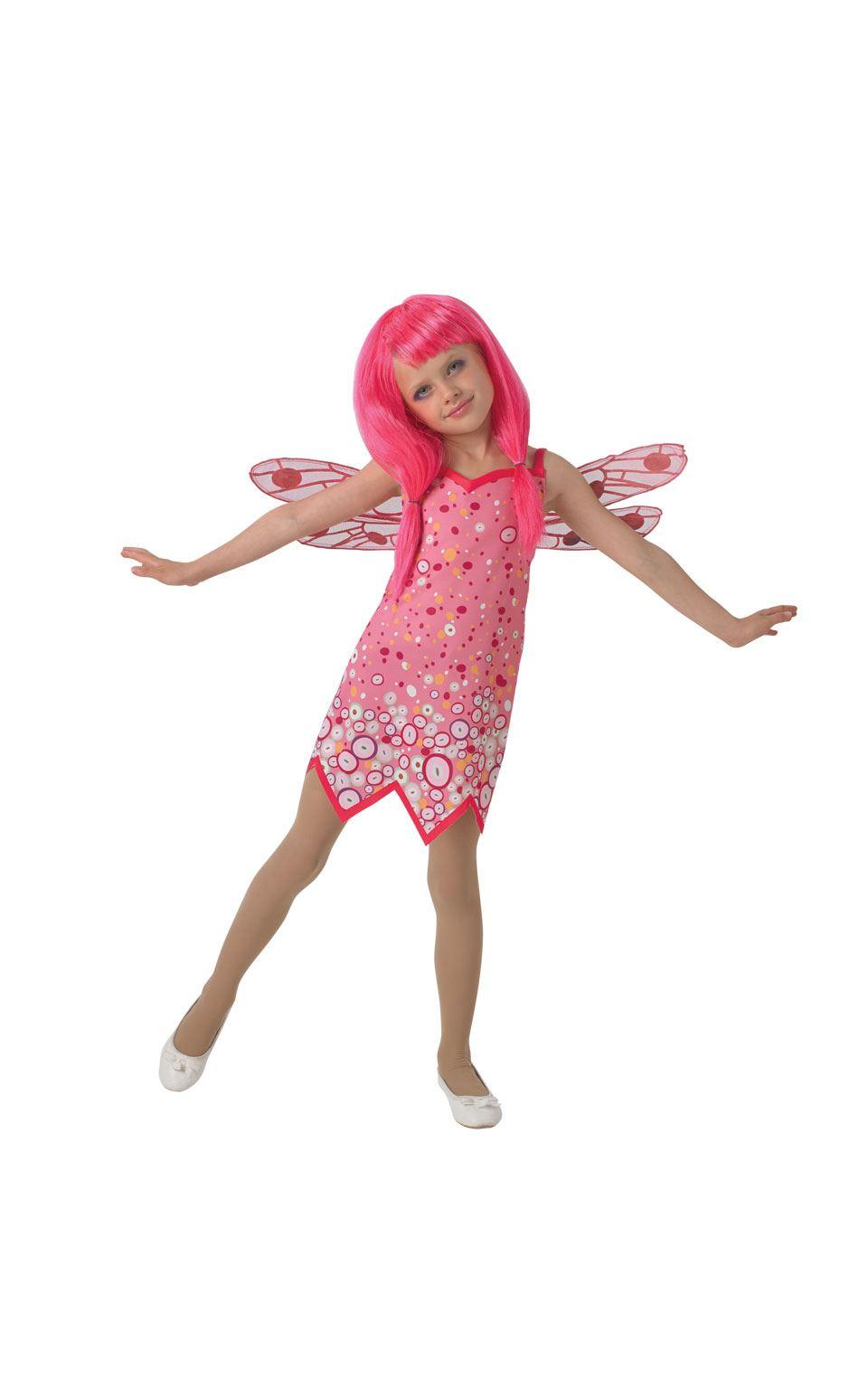 niña Clásico Mia & ME DISFRAZ Hada Rosa Infantil Disfraz Fiesta | eBay