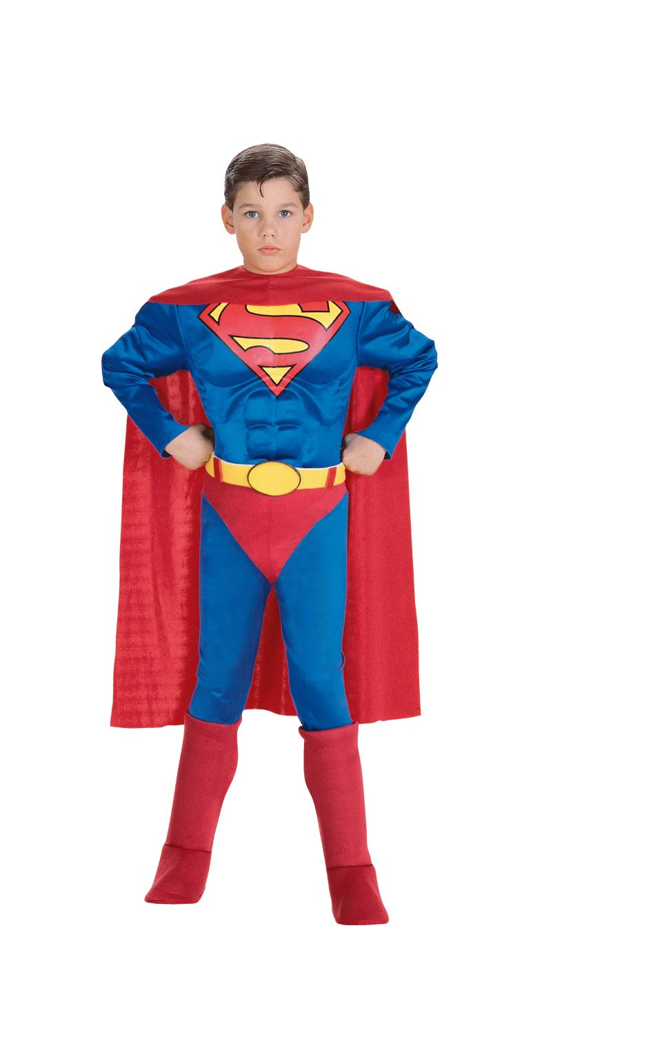 Adult costume deluxe superman