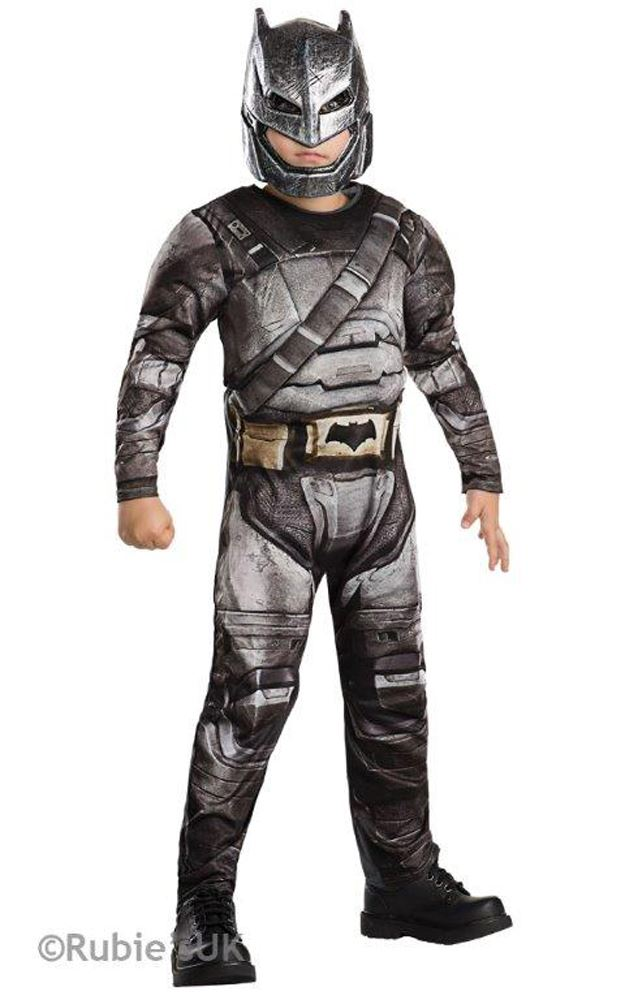 Boys-Batman-Superman-Costumes-Halloween-Fancy-Dress-Boys-  sc 1 st  eBay & Boys Batman Superman Costumes Halloween Fancy Dress Boys Superhero ...