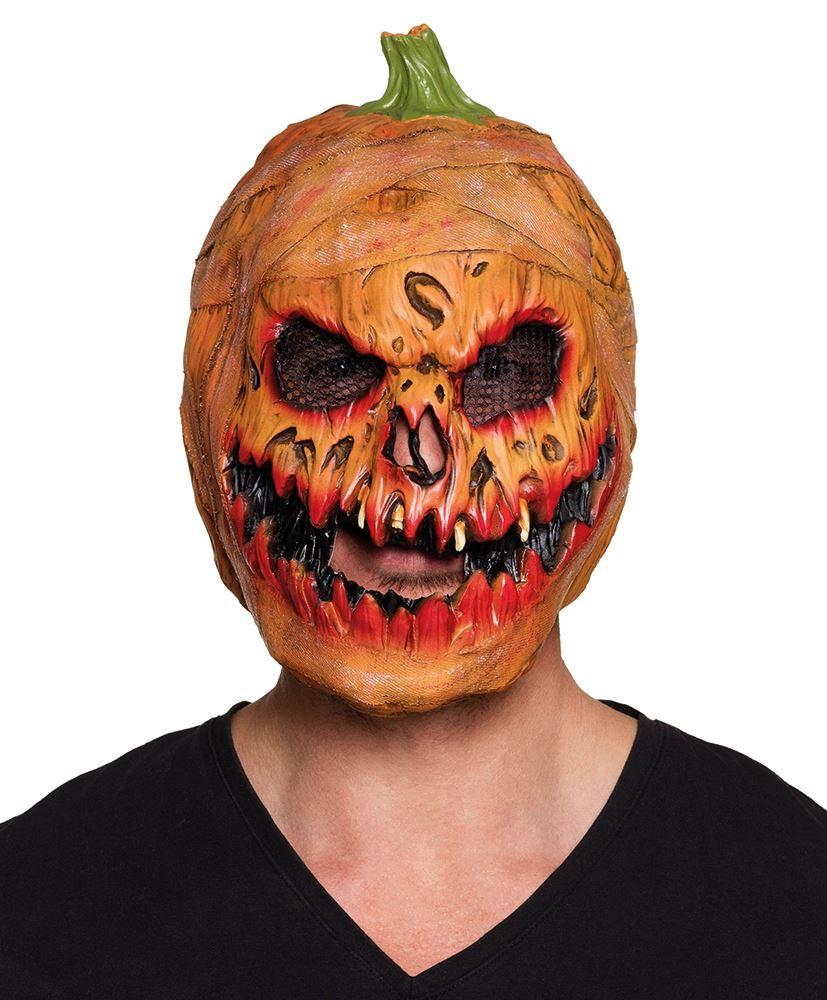 Halloween Horror Pumpkin Light Up Fancy Dress Scary Decoration