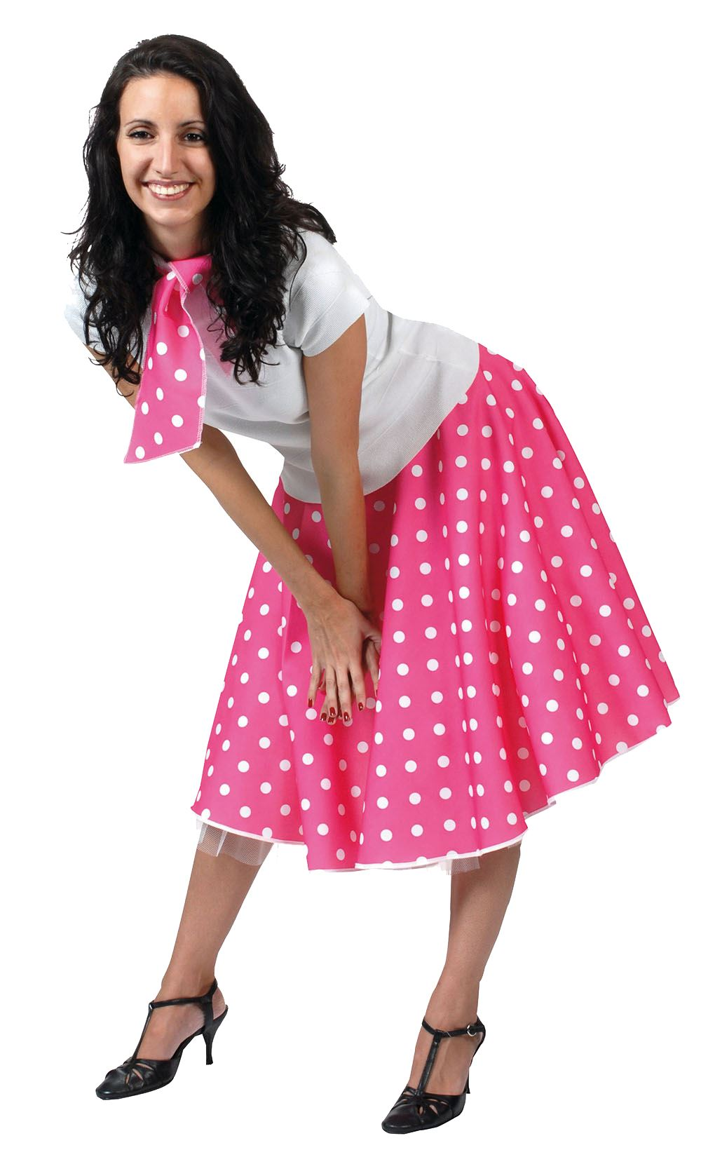 Ladies Polka Dot Skirt