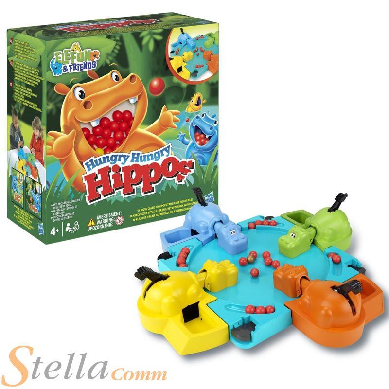 Hasbro Hambriento Hipopotamos Infantil Canicas Comer Juego De Mesa