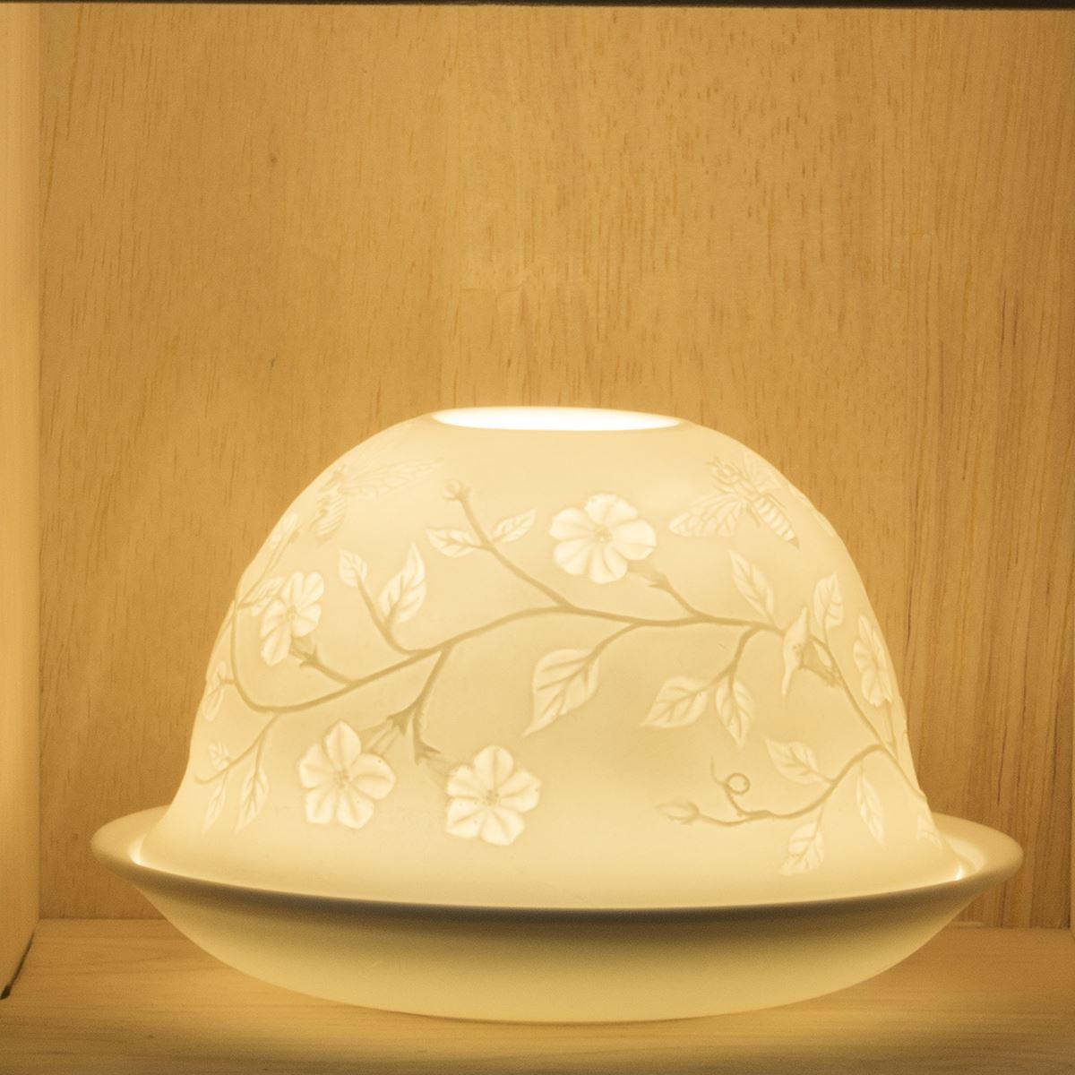 nordic lights candle shade tray tea light holder oil burner for candles ebay. Black Bedroom Furniture Sets. Home Design Ideas