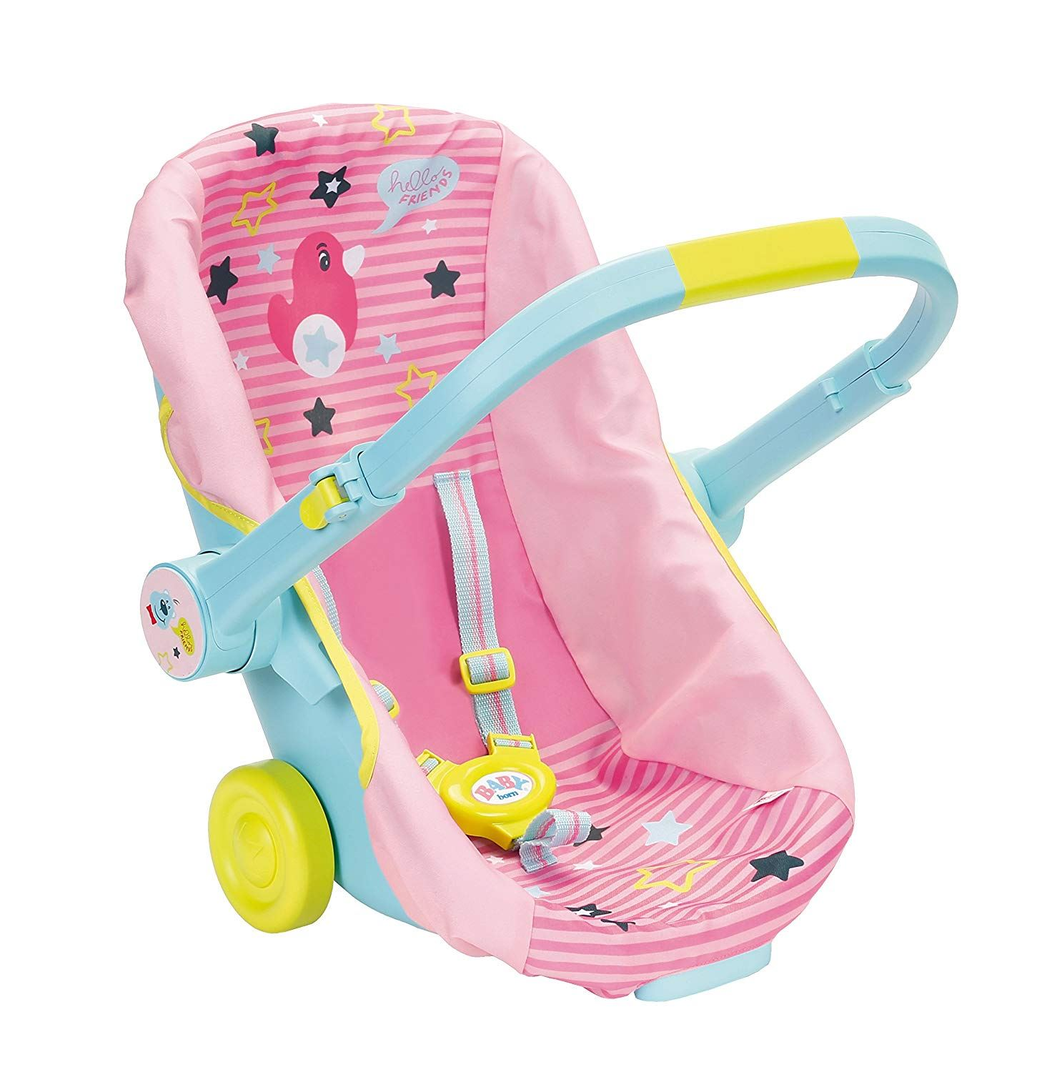 NEW BABY BORN COMFORT DOLL CARSEAT CARRIER ZAPFT CREATION