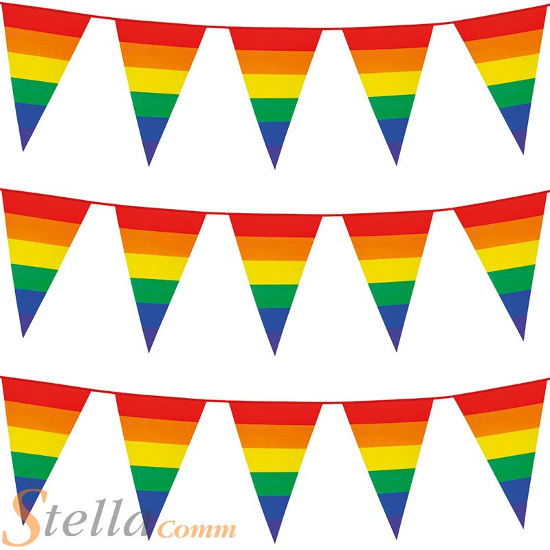 Unicorn And Rainbows Bunting Decoration 12 Flags Party Ideas Uk Home