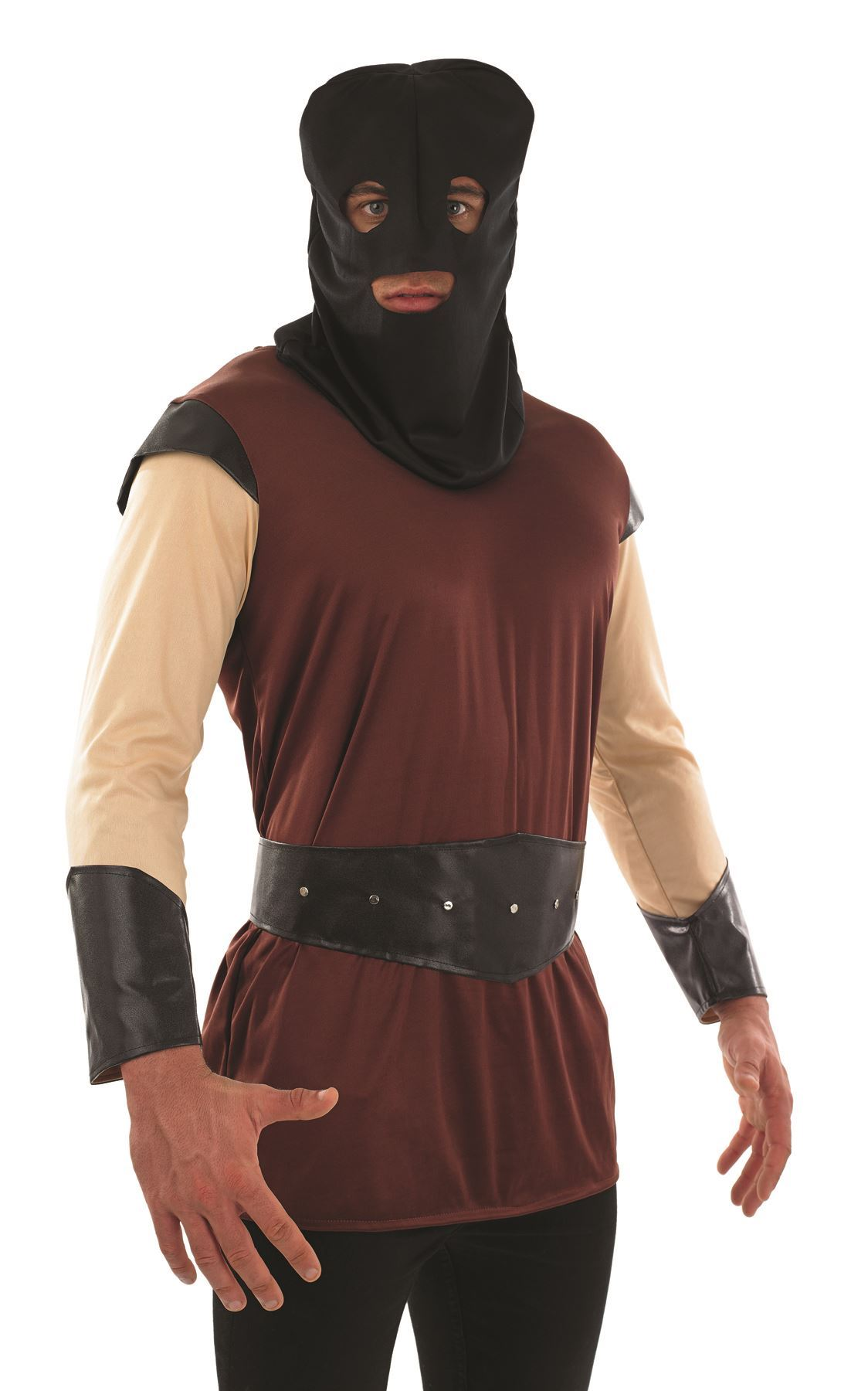 The Dragons Den Halloween Medieval Executioner Hood only Fancy Dress Accessory