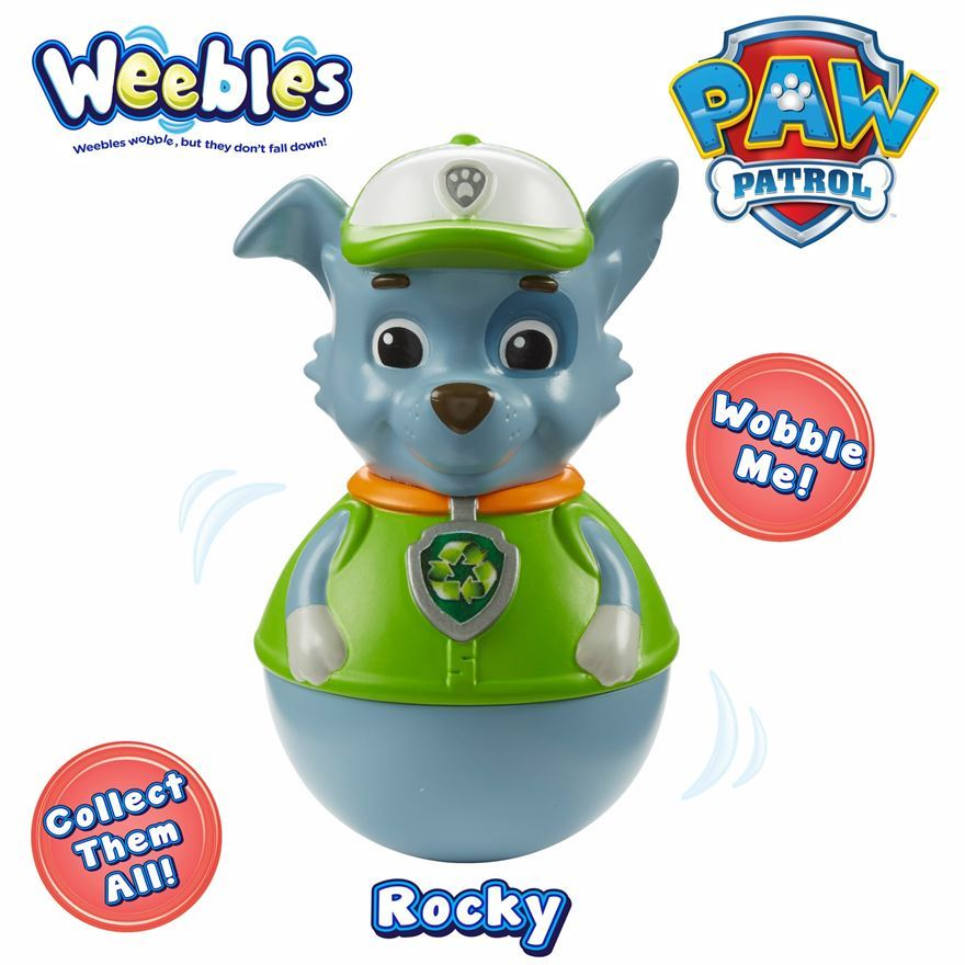 rocky paw patrol series 1 weebles character options