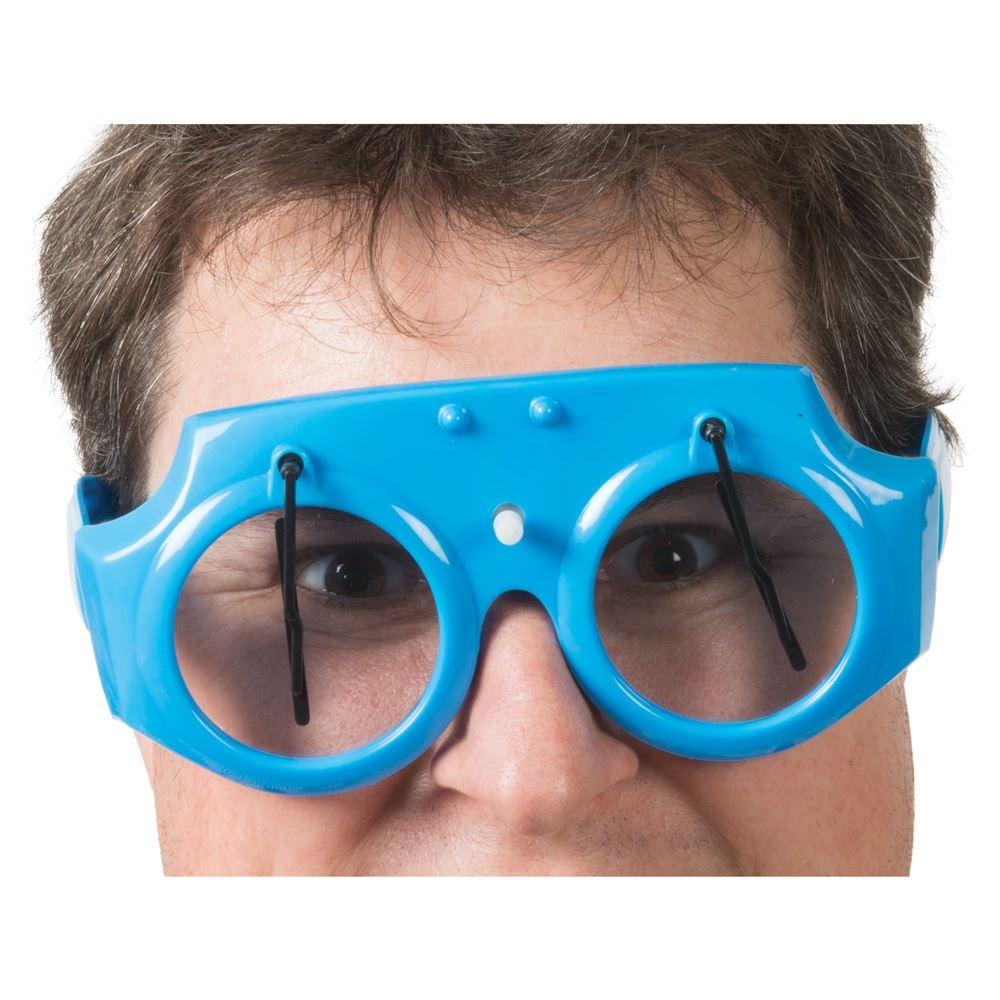 6c1fb7c28996 Wind Up Wacky Wipers Novlety Clockwork Windscreen Wiper Glasses Fancy Dress