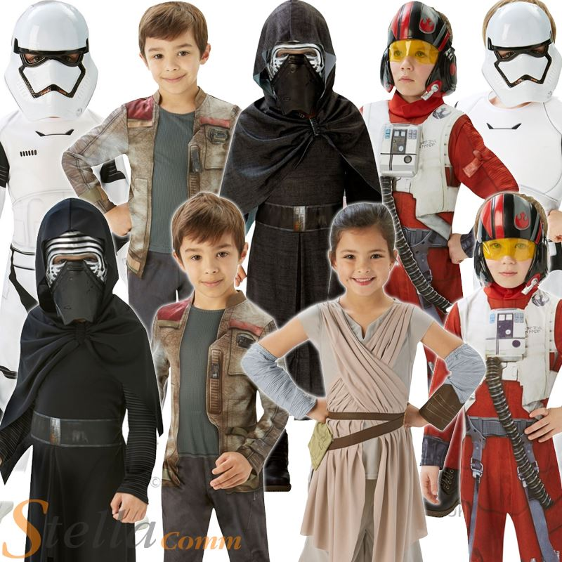 kids star wars costumes force awakens halloween fancy dress boys