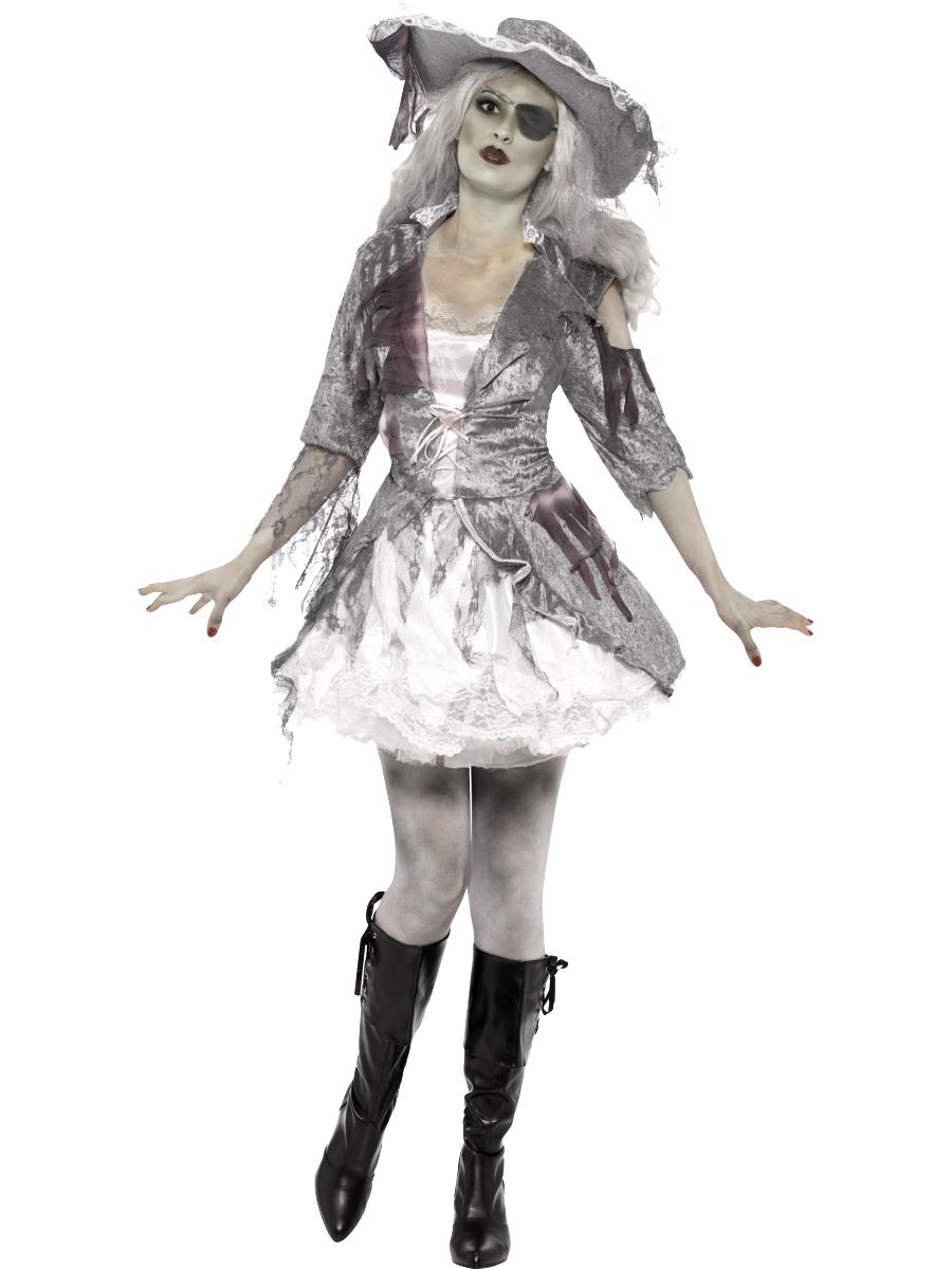 Adulte Homme Femme Pirate Pirate Pirate Ghost Navire Marin Zombie Halloween Costume Robe fantaisie 996b6c