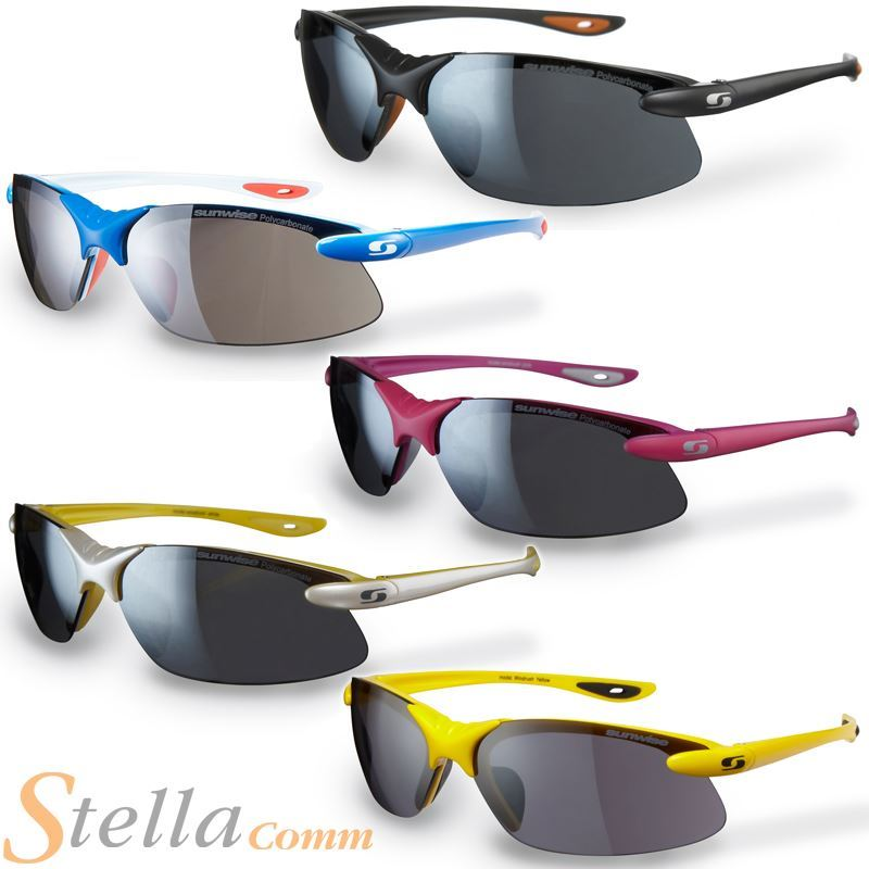 d9b52dd762 SUNWISE WINDRUSH Interchangeable Lens Sport Sunglasses Cycling Running  Triathlon
