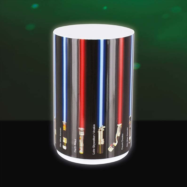 Star Wars Lightsaber Mini Mood Light Droid Lamp