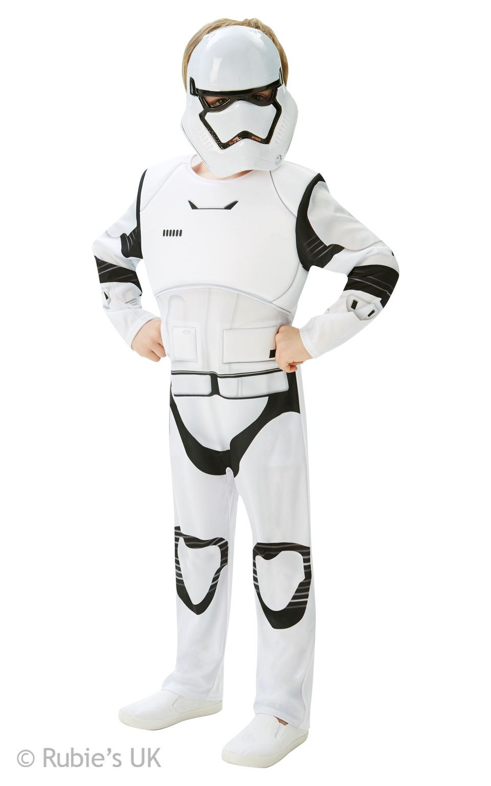 boys stormtrooper deluxe star wars the force awakens kids fancy