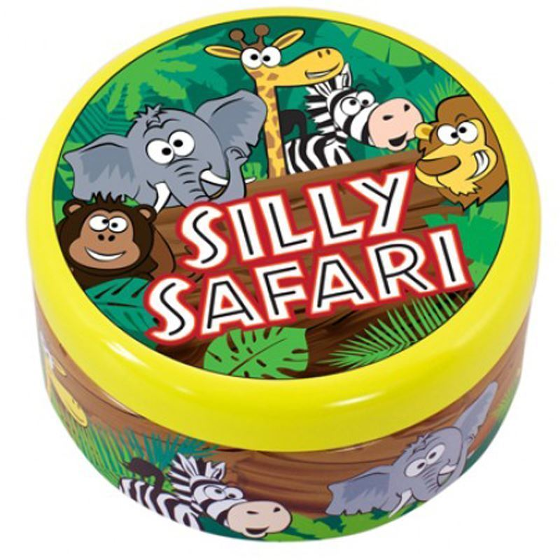 Cheatwell Games Silly Safari Round Tin Childrens Card Game