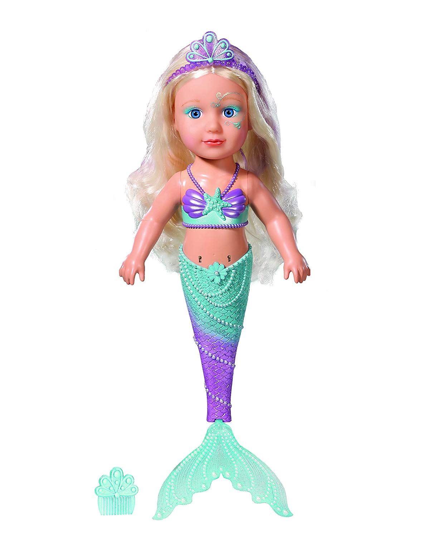 Zapf Baby Born Little Sister Mermaid 43cm Swimming Doll