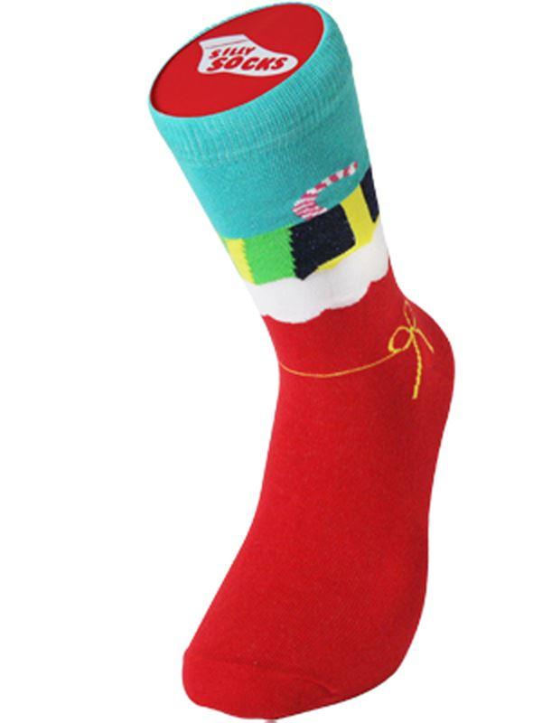 SILLY SOCKS Novelty Cotton Entraîneur Baskets Sock Funny Present Christmas Present Funny Poison 94d204