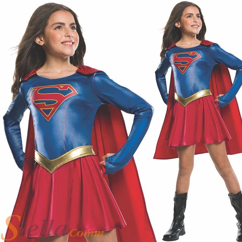 filles supergirl s rie tv d guisement d guisement super h ro d guisement adulte ebay. Black Bedroom Furniture Sets. Home Design Ideas