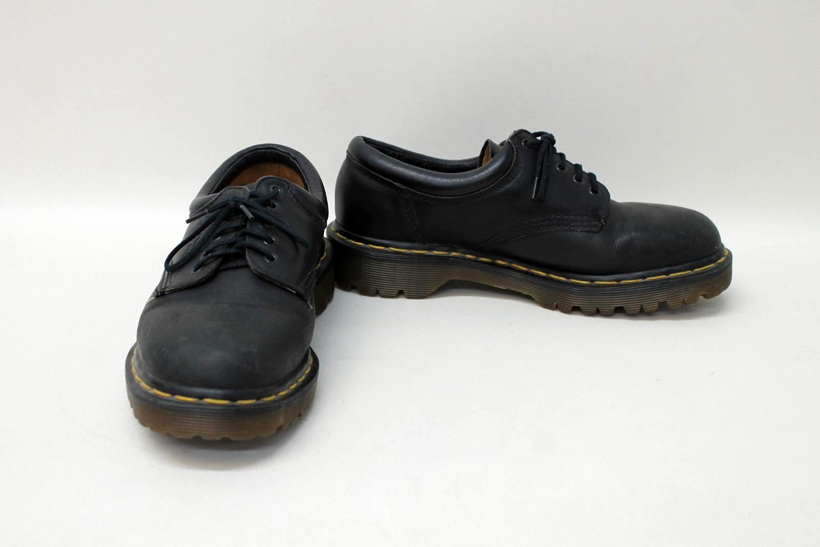 Liberal Dr Martens Ladies Black Leather Five-eyelet Lace Up Oxford Shoes Size Uk6 Eu39 Clothing, Shoes & Accessories Flats