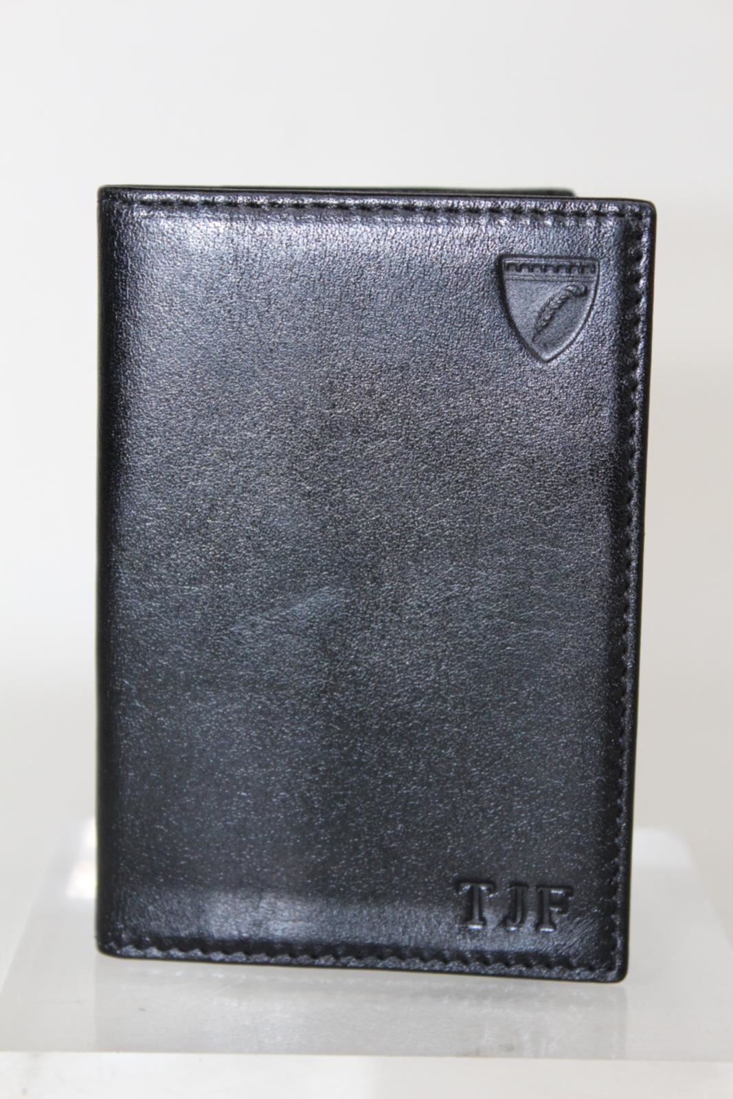 ASPINAL-OF-LONDON-Smooth-Black-w-Blue-Land-Snake-Double-Fold-Credit-Card-Holder