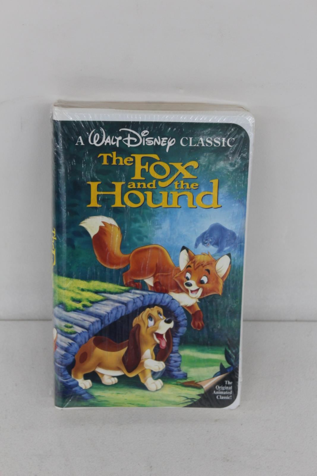 NEW-WALT-DISNEY-The-Fox-And-The-Hound-Sealed-VHS-Classic-Home-Video-Cassette