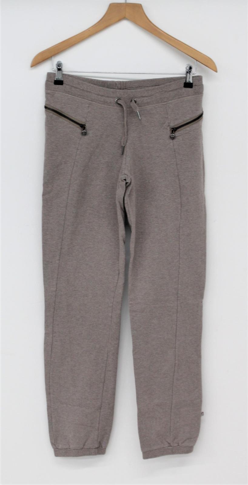 Sweaty-Betty-Damas-Malva-Mezcla-de-Algodon-Cintura-Elastica-Correr-Pantalones-S-W30