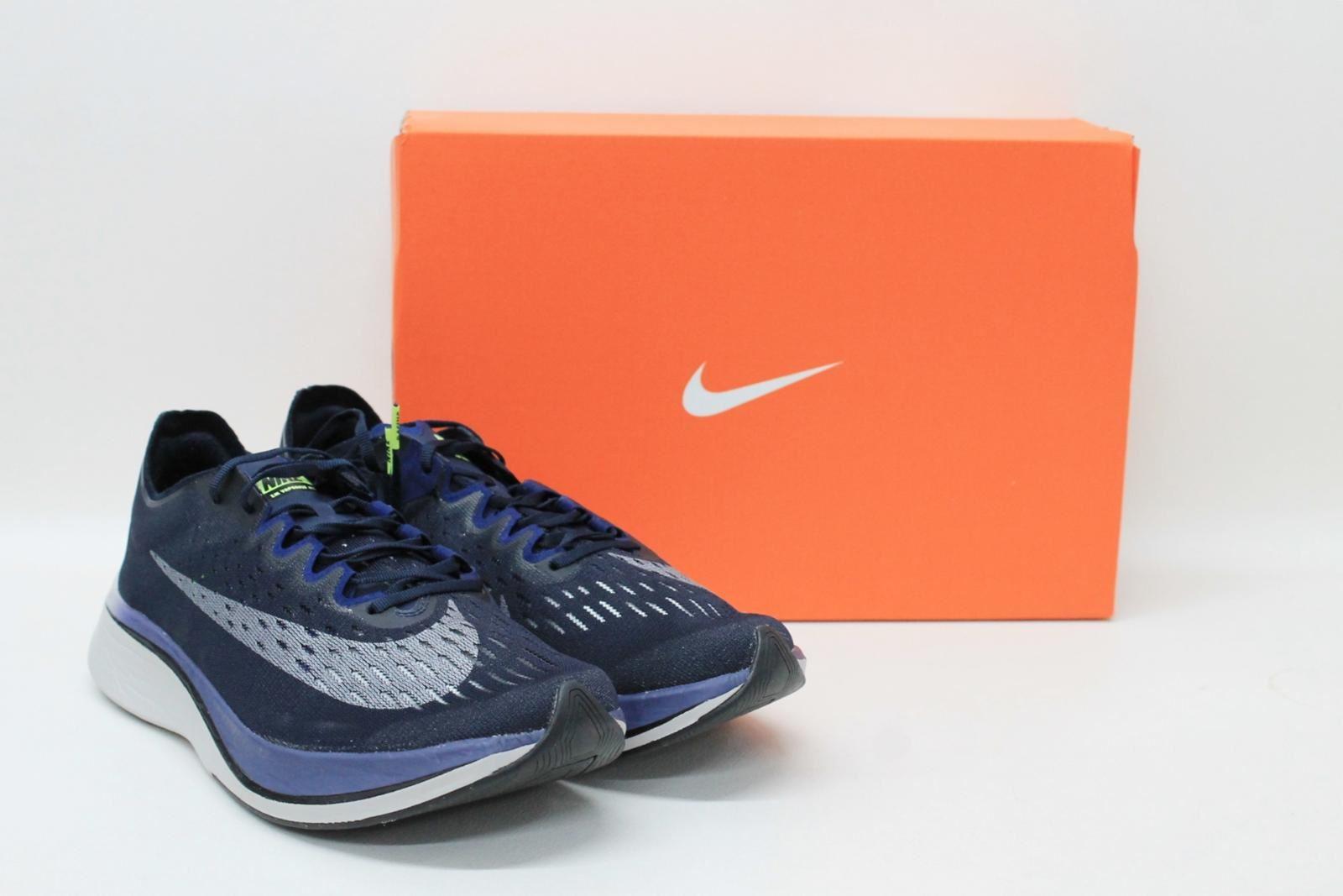 990b7c08 BNIB NIKE Zoom Vaporfly Men's Navy bluee Grey Trainers shoes Size UK10 EU44  nonlhn1239-Athletic Shoes