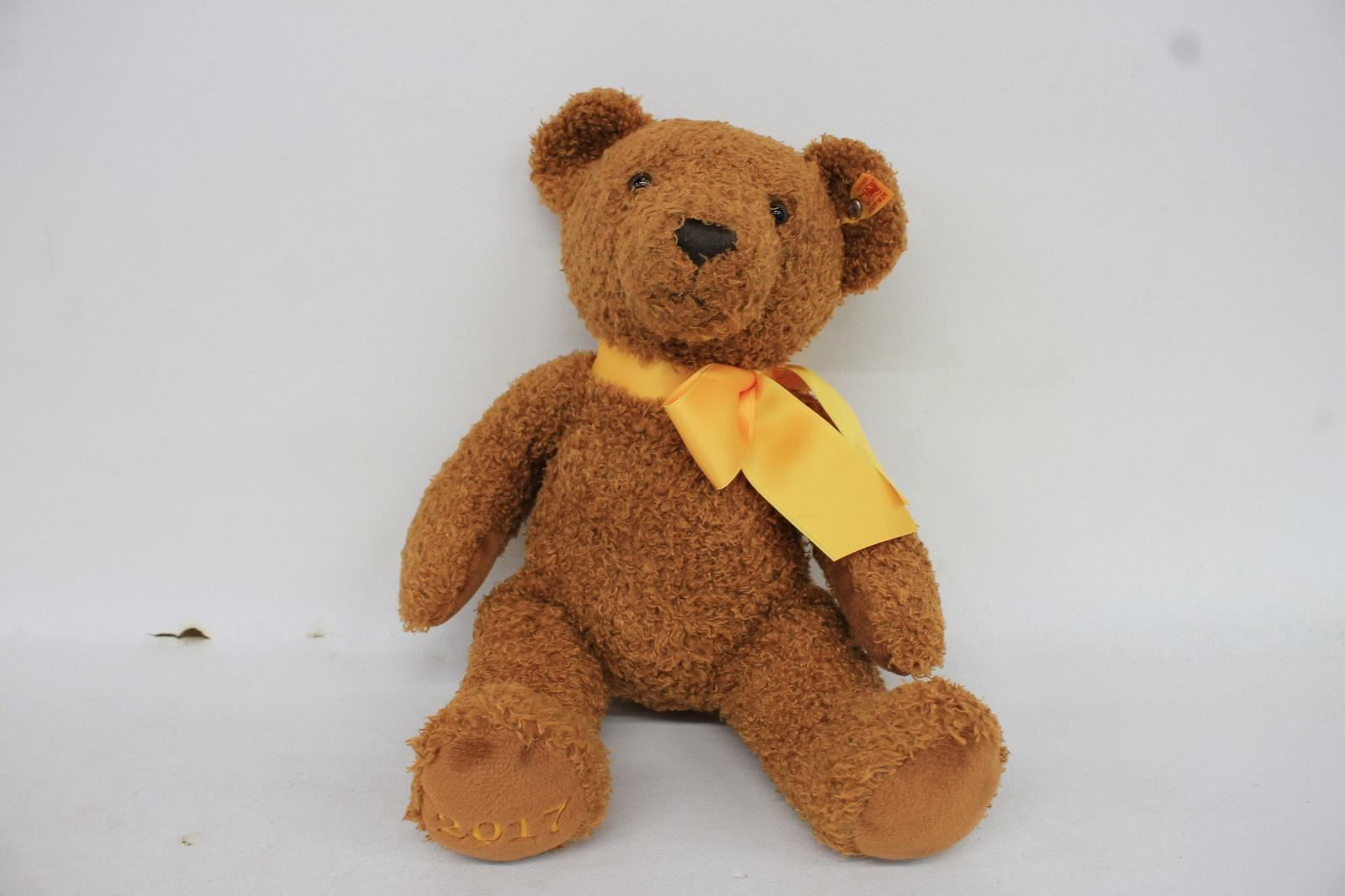 STEIFF-Cinnamon-Brown-Cosy-Year-Retired-Toy-Teddy-Bear-2017-Collectible-690037