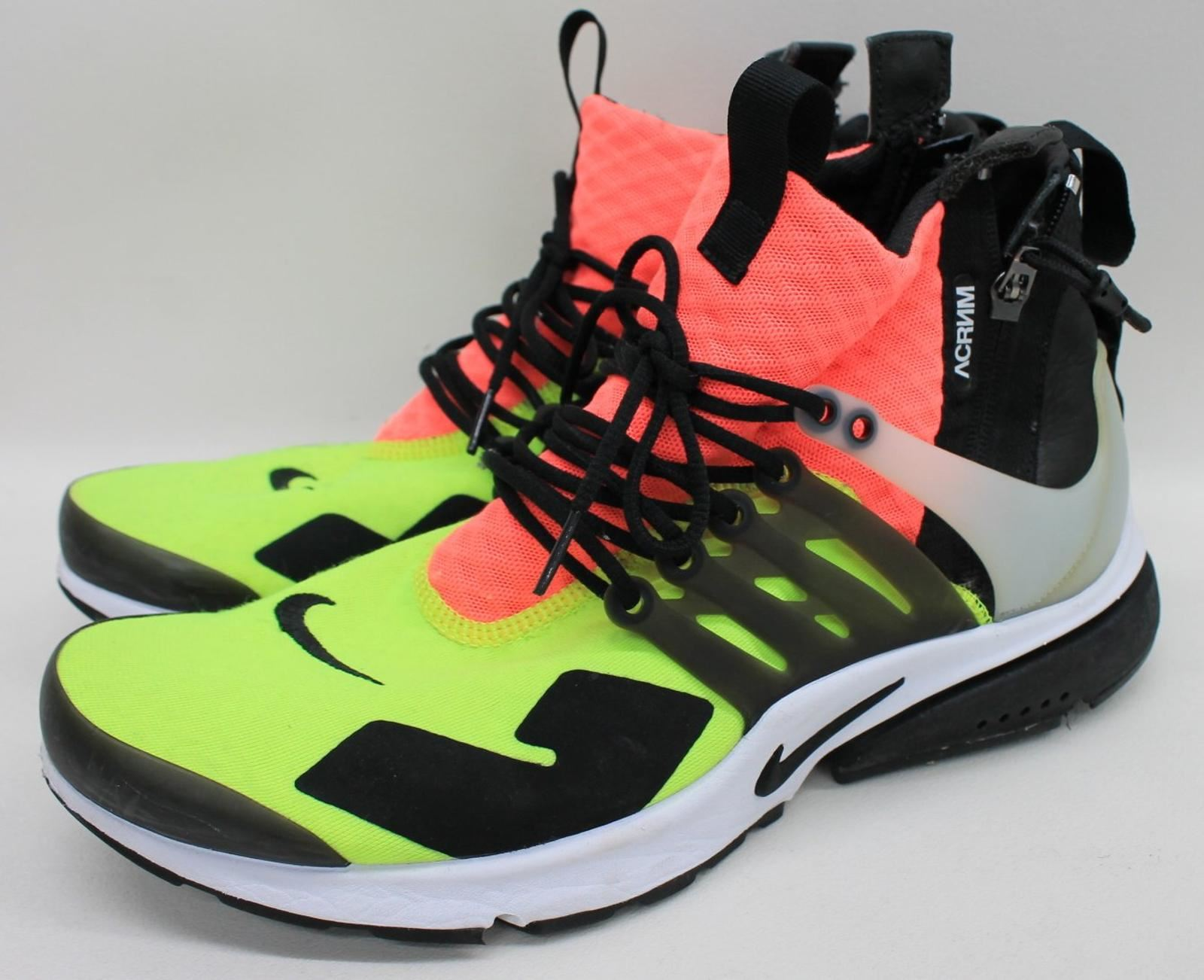 best website 86b67 63be0 da Uk9 Presto ginnastica Acronym Mid uomo medio X Lava Volt Scarpe Air Hot  Nike Uk10 ...