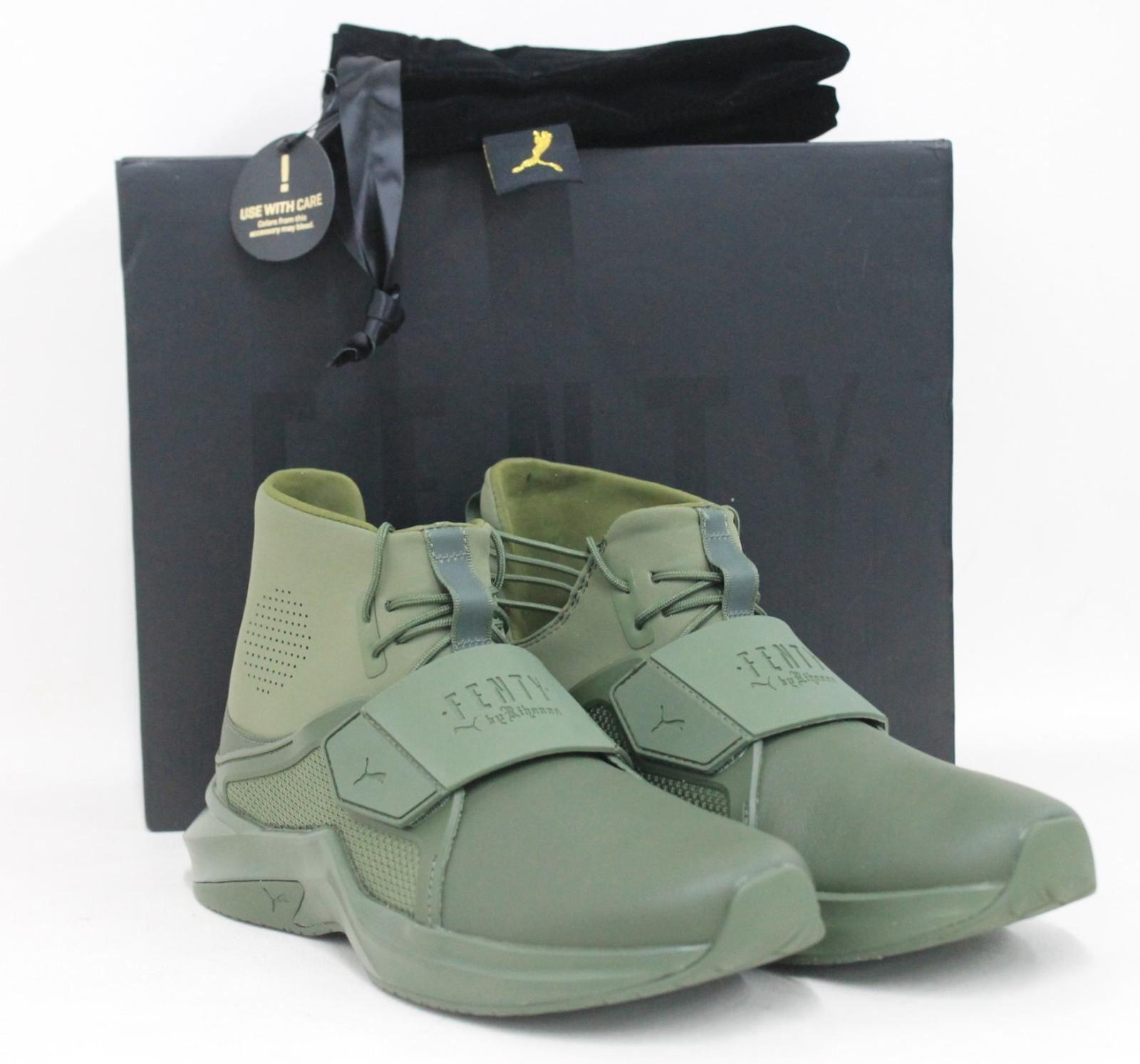 BNIB PUMA Ladies The The The Trainer Hi By Fenty Green shoes Trainers Size UK6.5 EU40 d52f2d