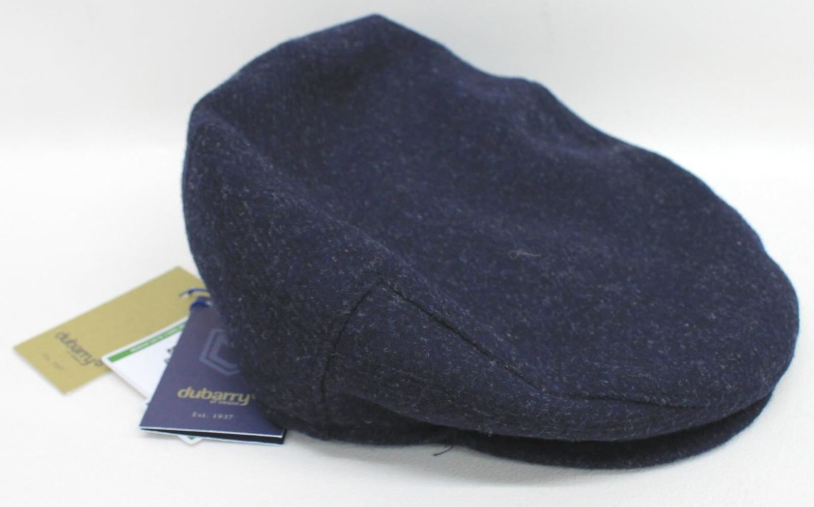 442e780766c Dubarry 4134-03 Ladies Navy Blue Holly Tweed Flat Cap Hat Size L 59 ...