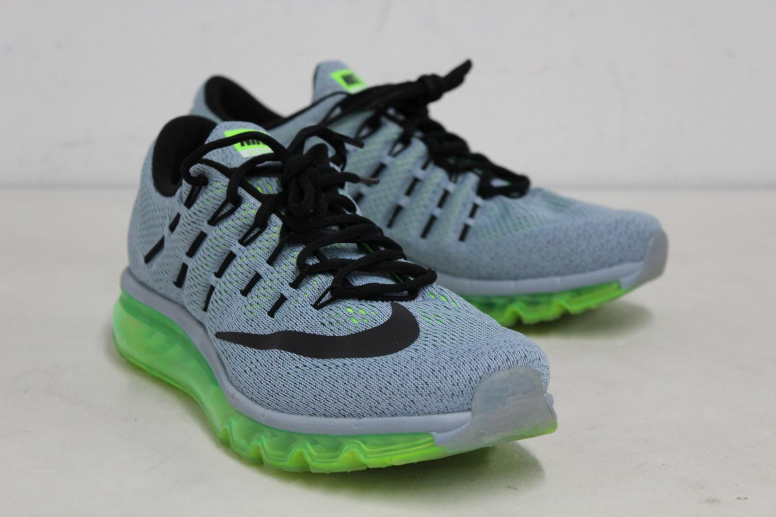 NIKE Air Max 2016 Ocean Fog 806771-403 Bubble Sole Mens Running Trainers UK8.5