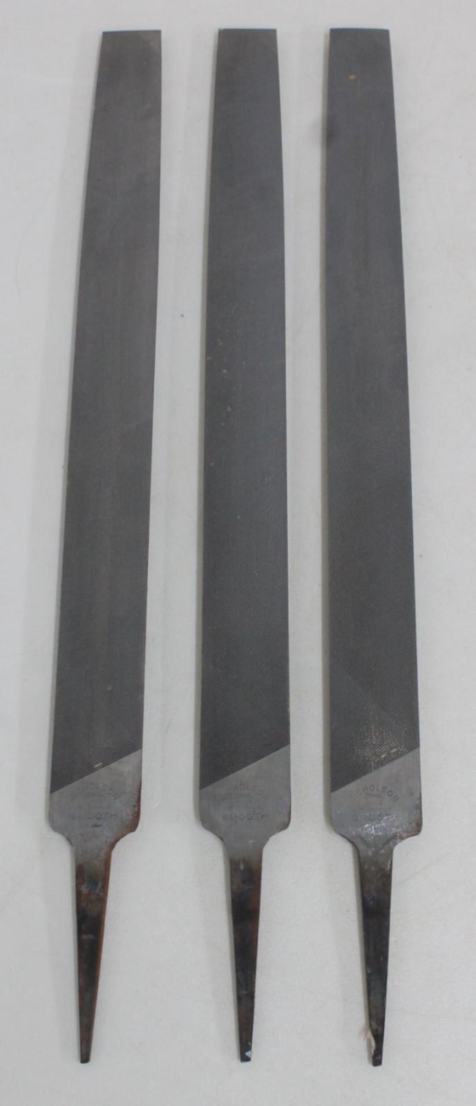 3-X-trabajo-de-madera-y-metal-Nicholson-Medio-Redondo-14-034-archivos-de-mano-corte-suave-30mm