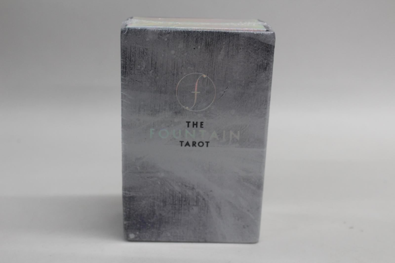 THE-FOUNTAIN-TAROT-Illustrated-Card-Deck-And-Guidebook-Sealed-2017-NEW