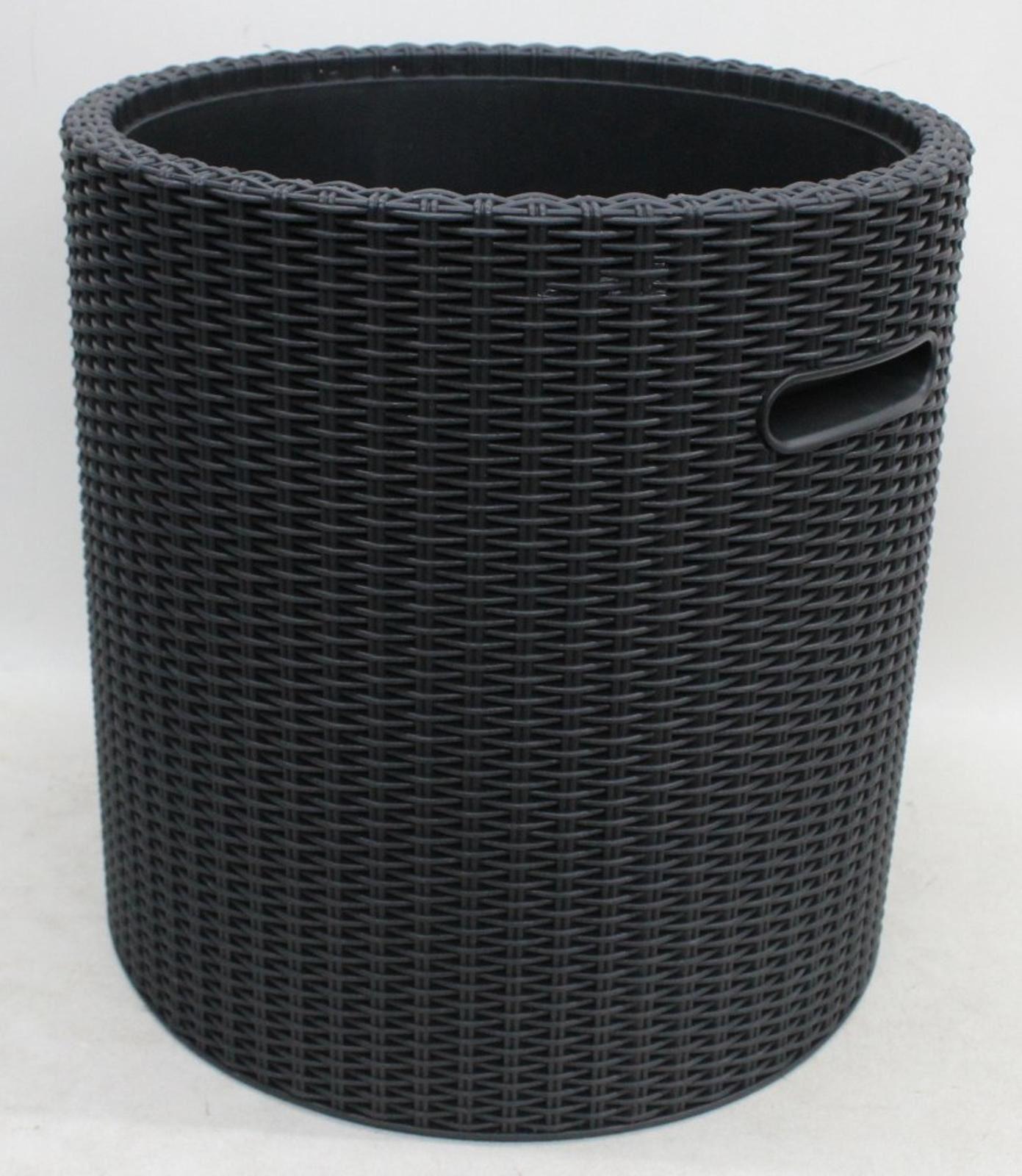 Keter Knit Cool Tabouret Outdoor 39 L Bar Ice Cooler mobilier de jardin-Beige