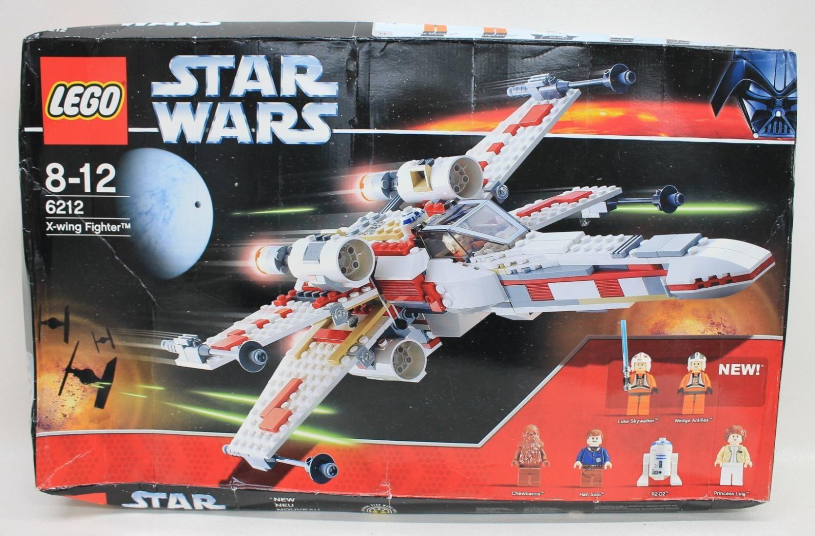LEGO 6212 Star Wars X-Wing Fighter 2006 Brickset Building Block Set NEW