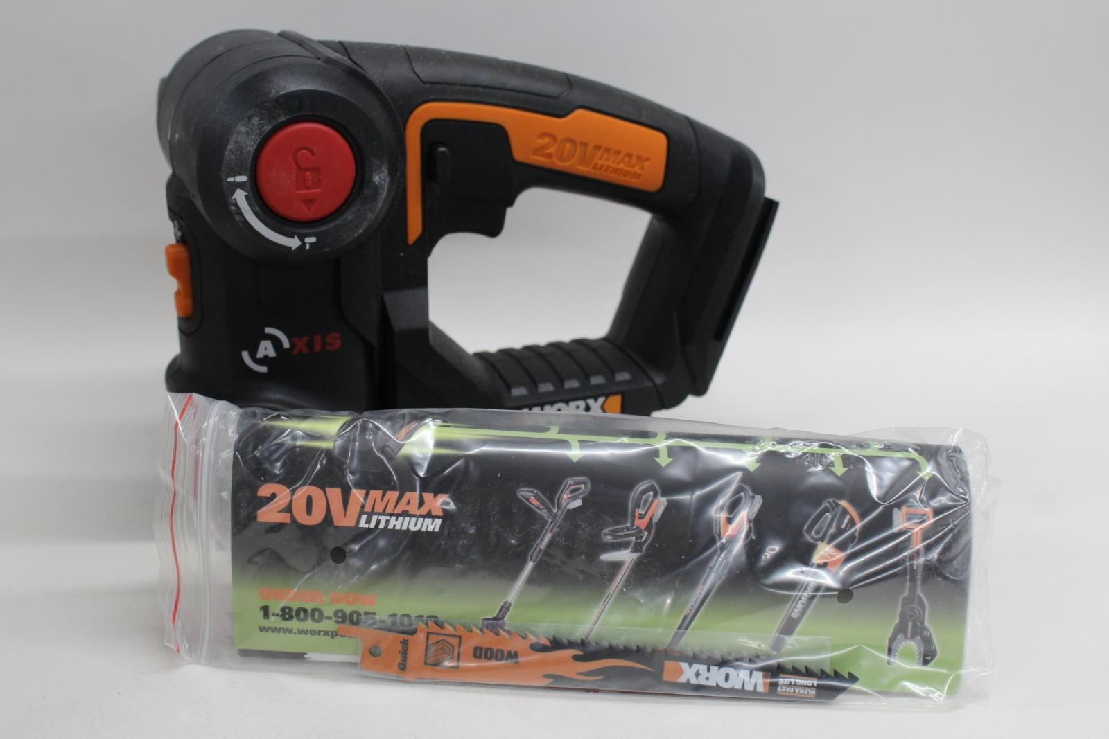 WORX-2-In-1-Reciprocating-Saw-Jigsaw-Tool-20-Volt-Trimming-Cutting-Compact-Body