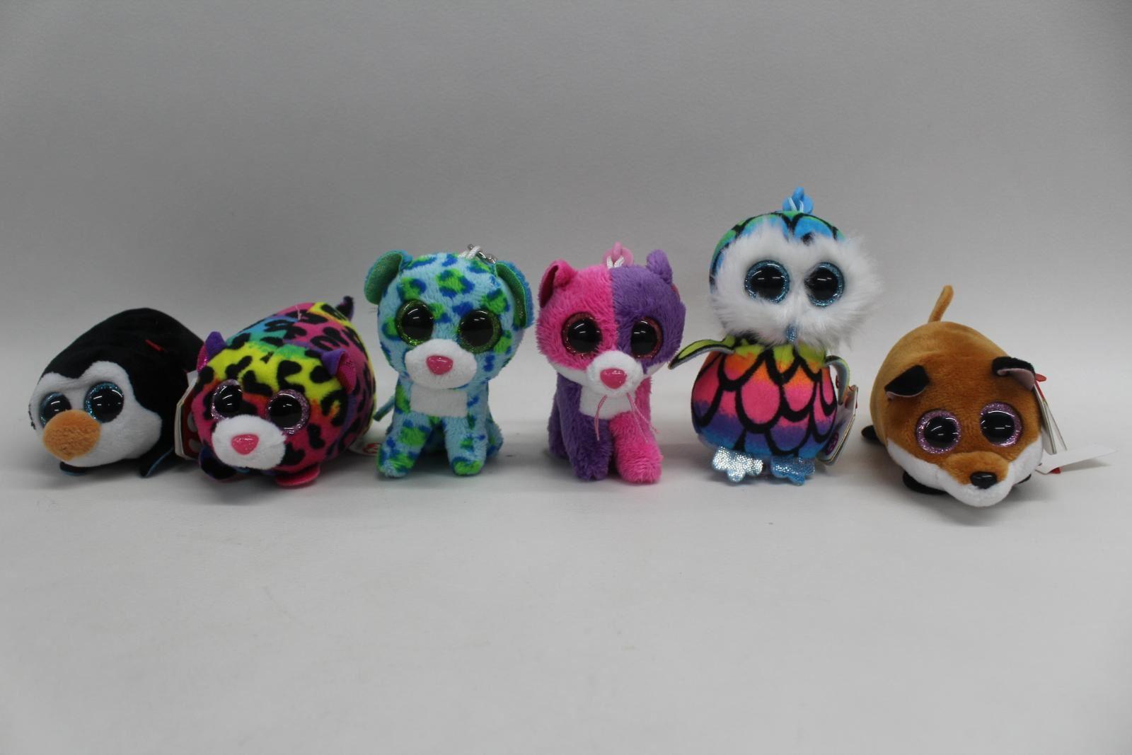 TY-Teeny-Tys-Beanie-Boo-Collectible-Mini-Plush-Leona-Aria-Pellie-Jelly-Finley
