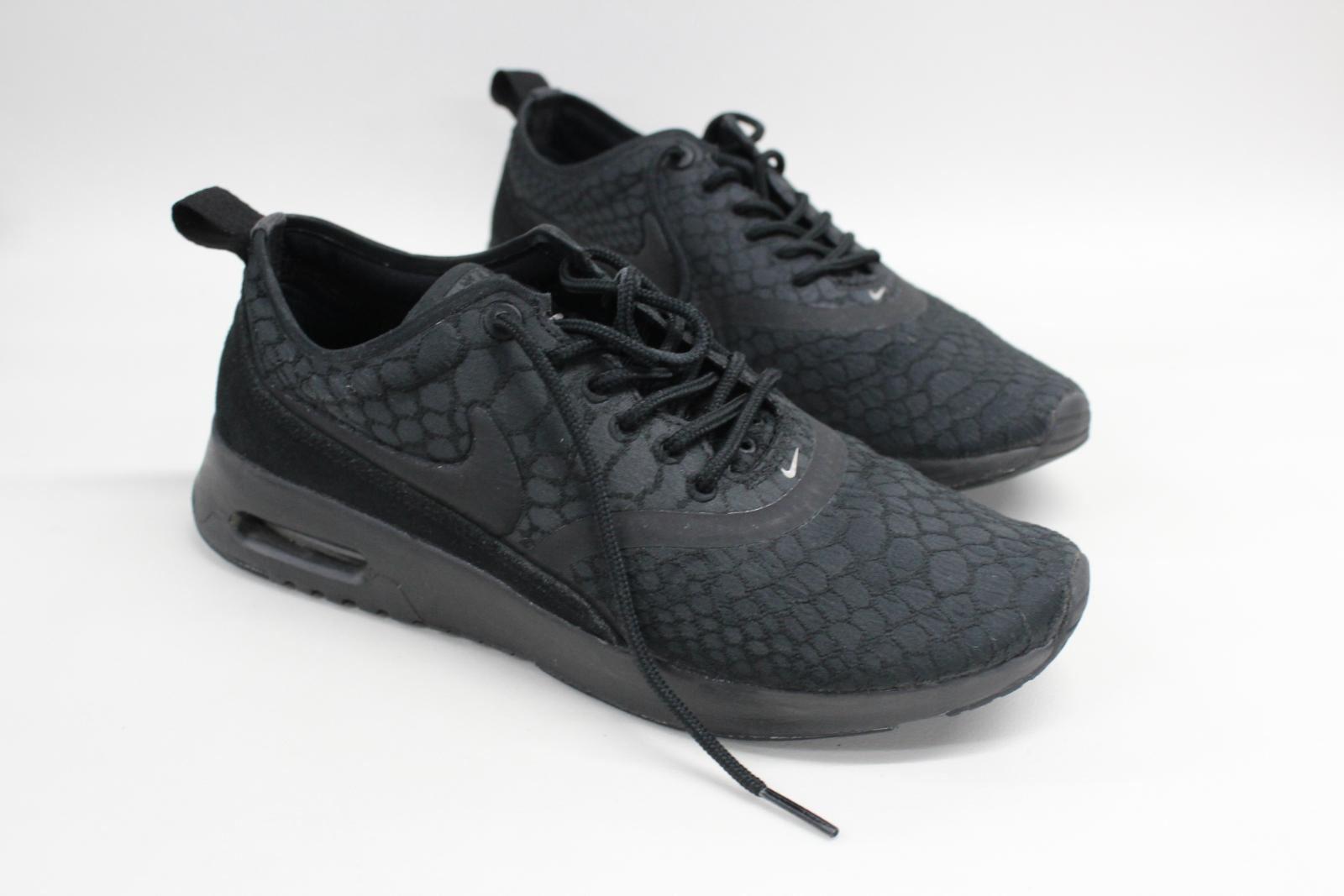 Nike-Air-Max-Thea-Ultra-Femmes-Baskets-noir-sportswear-Taille-UK4-5-EU38