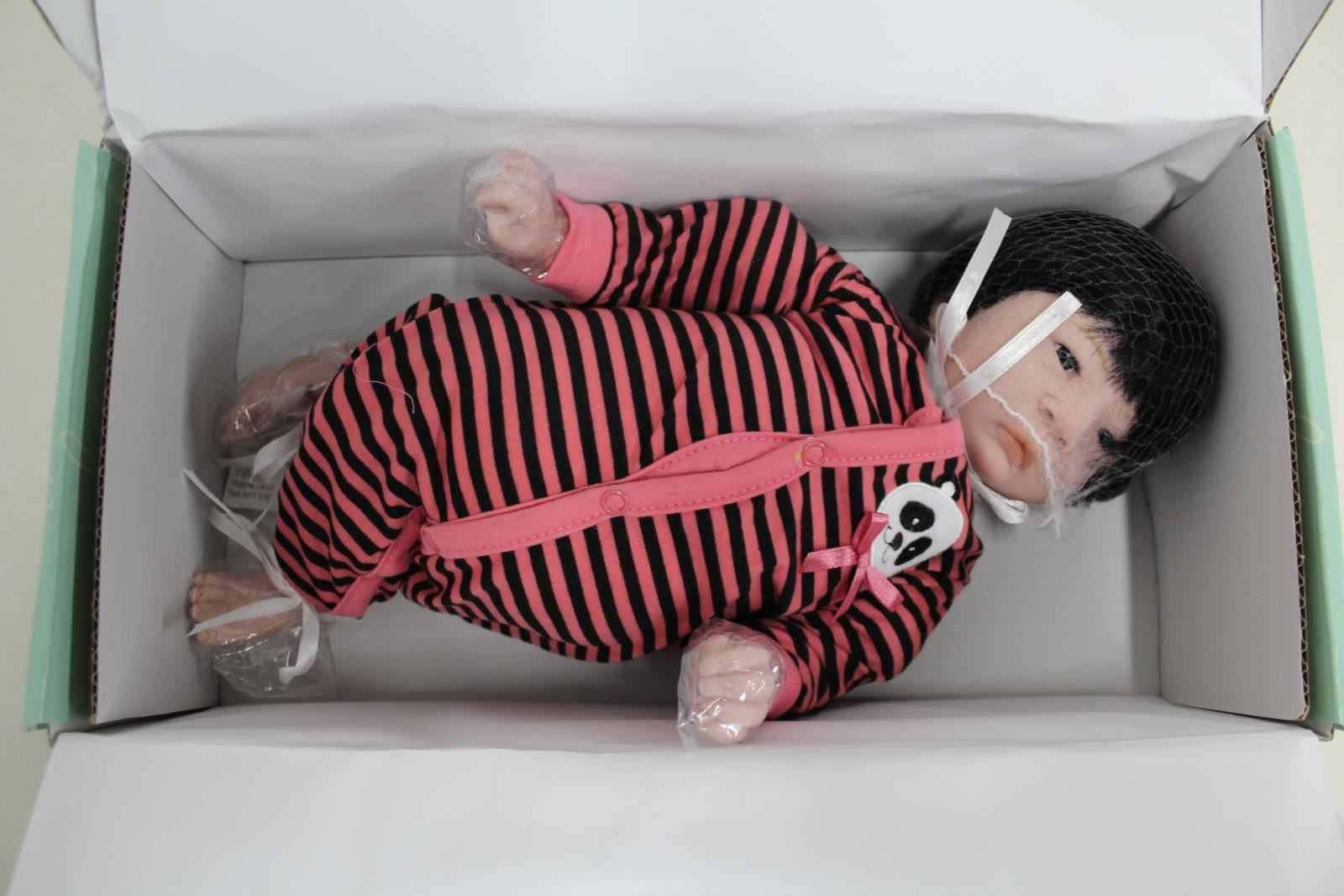 Amichevole Bnib Paradise Galleries Panda Twin Newborn Weighted Baby Doll Girl Hand Painted Guidare Un Commercio Ruggente