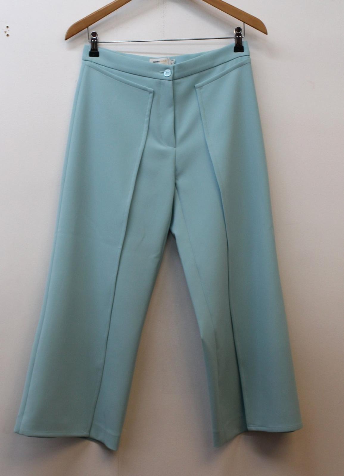 Aideen Bodkin Design Femmes Aqua Bleu Jupe-culotte Pantalon Uk8 Eu36 W28 L24 Bnwt