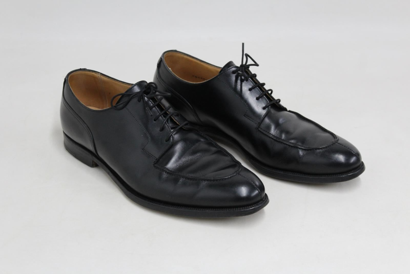 PEAL & & & CO Brooks Bredhers Mens Black Leather Formal Lace-up shoes UK9.5 EU43 520a6c