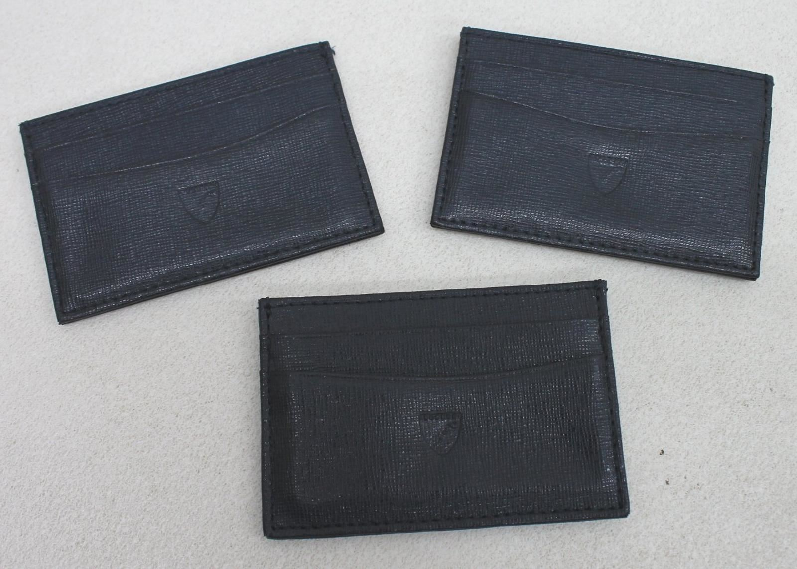 ASPINAL-OF-LONDON-Men-039-s-Blue-Saffiano-Leather-Slim-Credit-Card-Cases-Damaged-3x