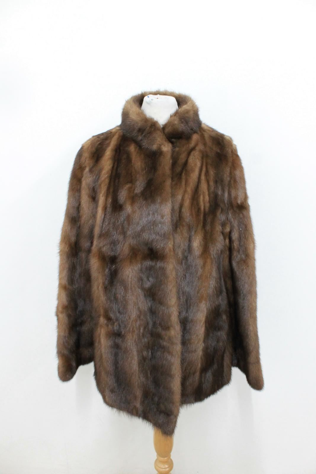Joseph Approx Fur S Fox Longline Furrier Brown Real Coat Ladies Size rfrZqzT1