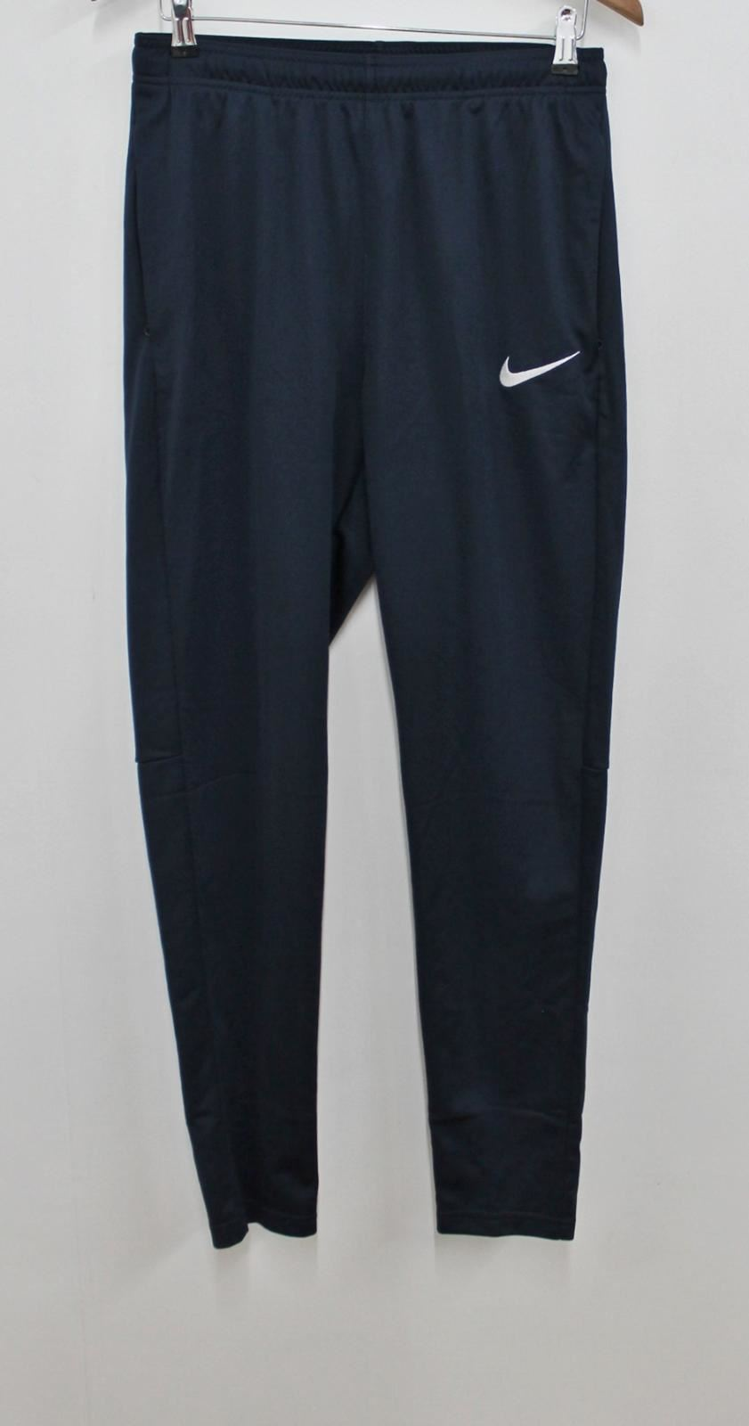 7be72972a694e NIKE Men's Dri-Fit Navy bluee Slim Fit High Waisted Sport Running Trousers M