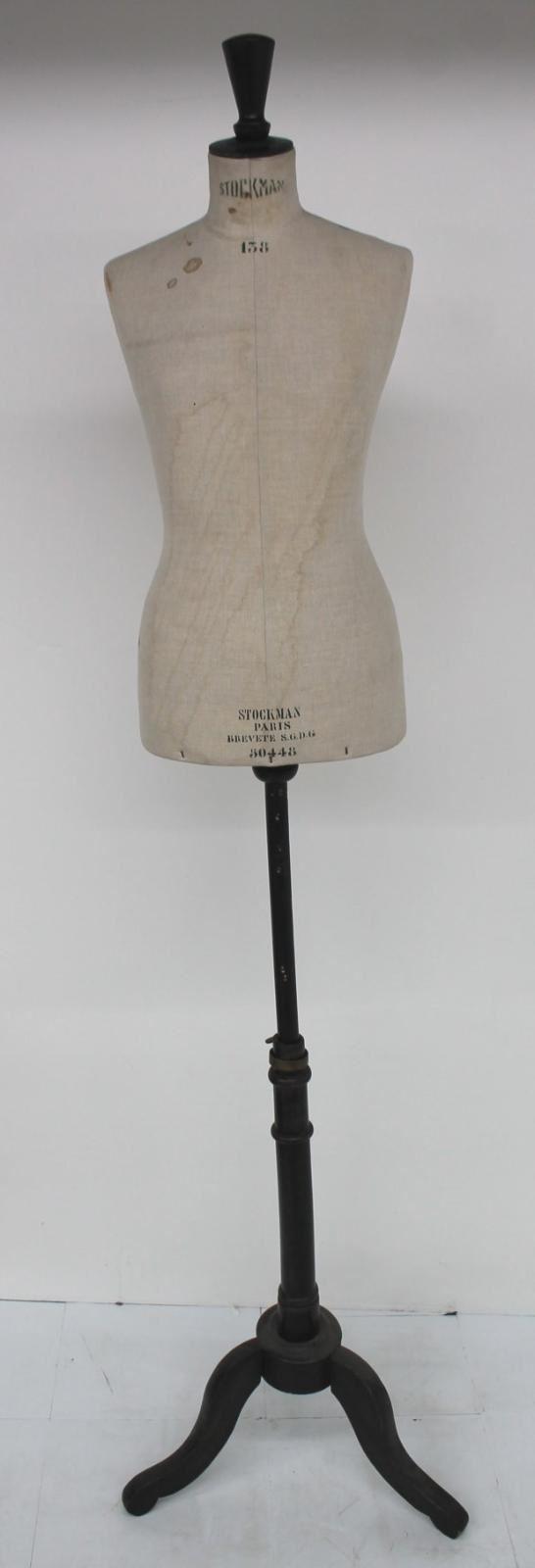 STOCKMAN-Haute-Couture-Classic-Female-Form-Vintage-Dressmaker-Mannequin-Dummy