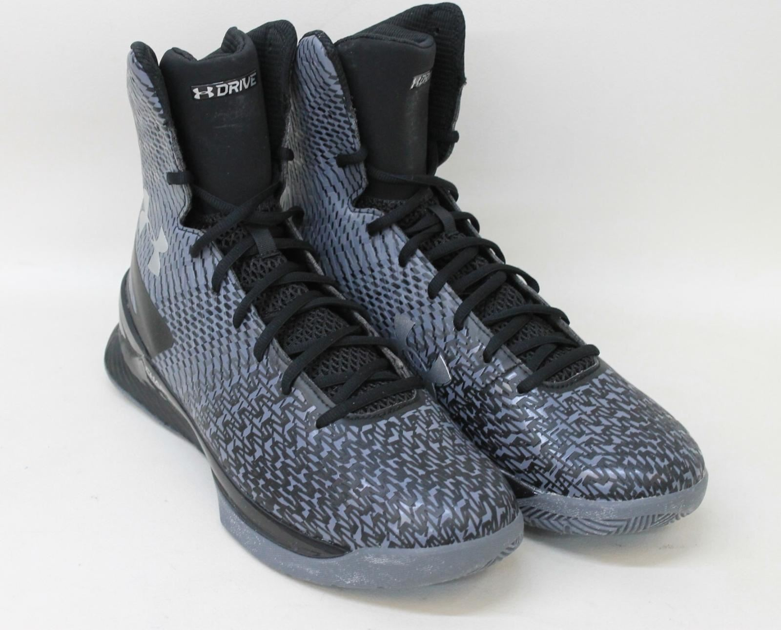 UNDER-ARMOUR-para-hombres-zapatos-de-baloncesto-Gris-Highlight-2-Drive-Talla-UK12-EU47-5-Nuevo