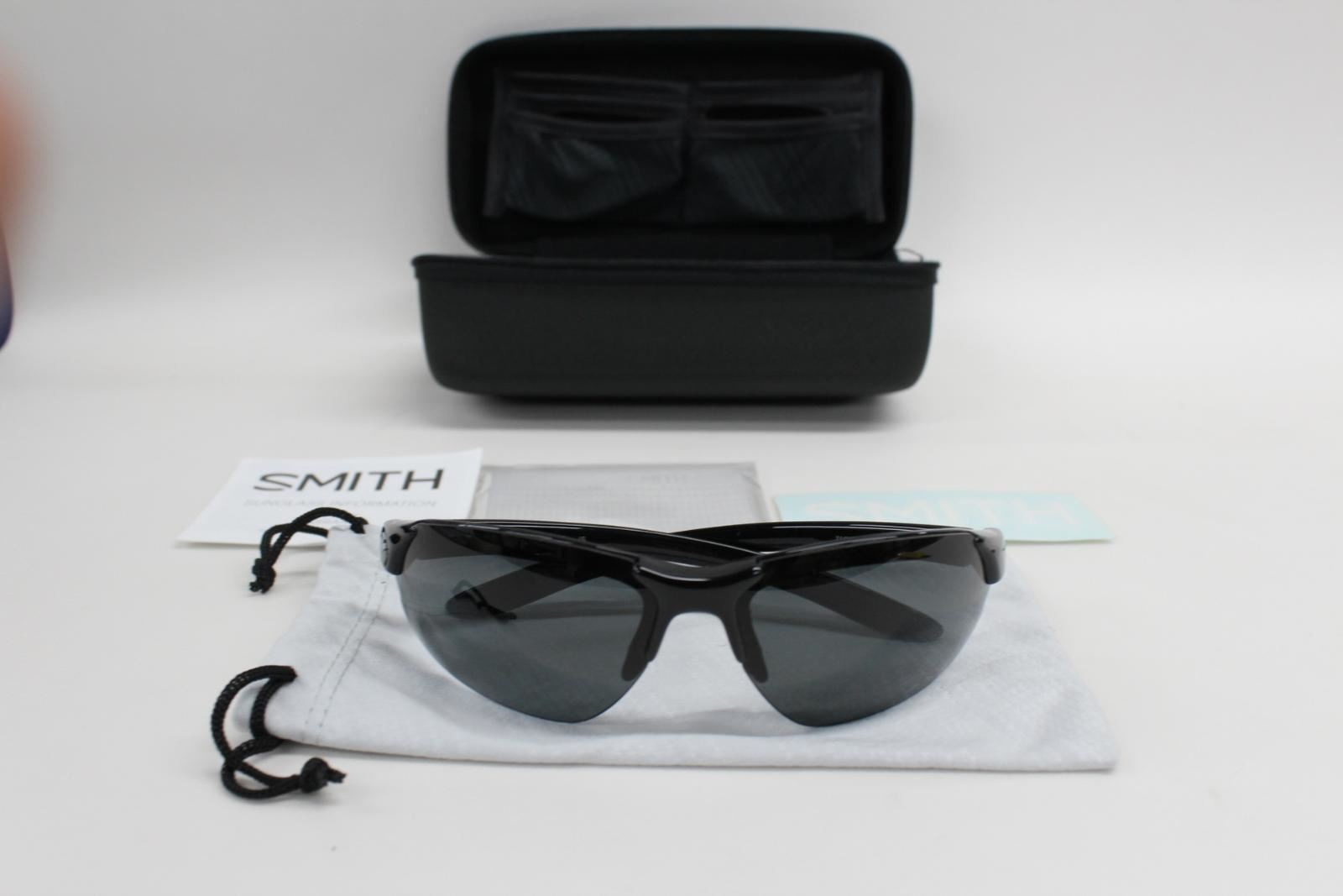 e9160b3547 NEW SMITH OPTICS Parallel D Max Polarized Mens Sunglasses W  Bonus Lens  00ES V1
