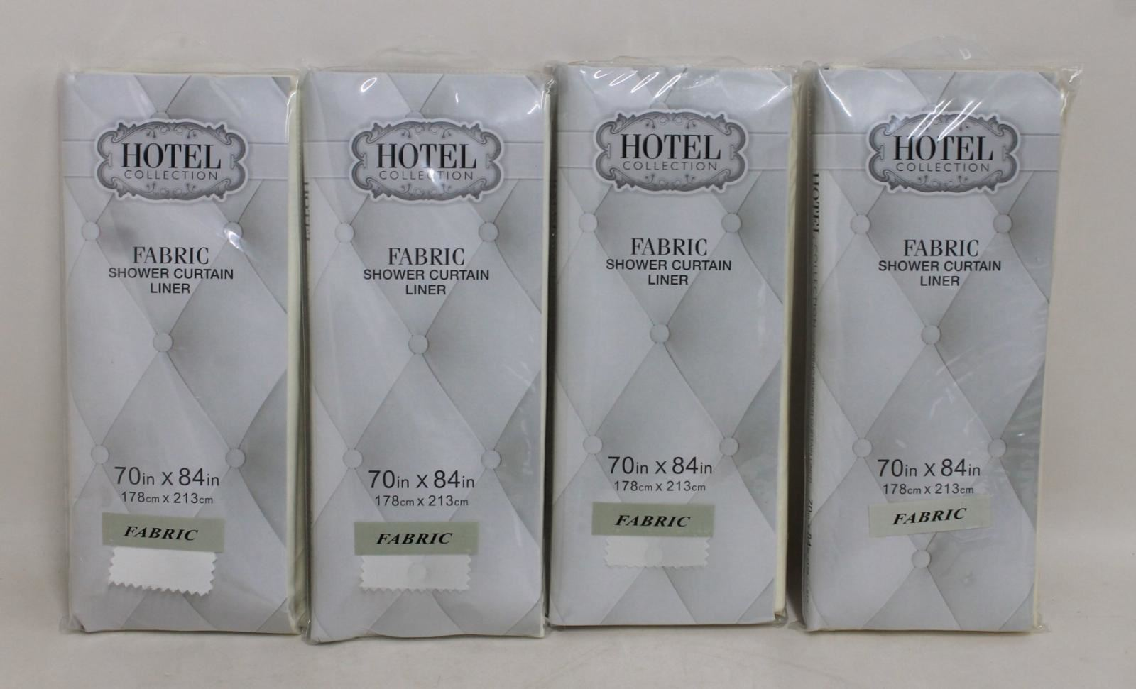 4-x-NEW-HOTEL-COLLECTION-Waterproof-Fabric-Shower-Curtain-Liner-70-x-84-034