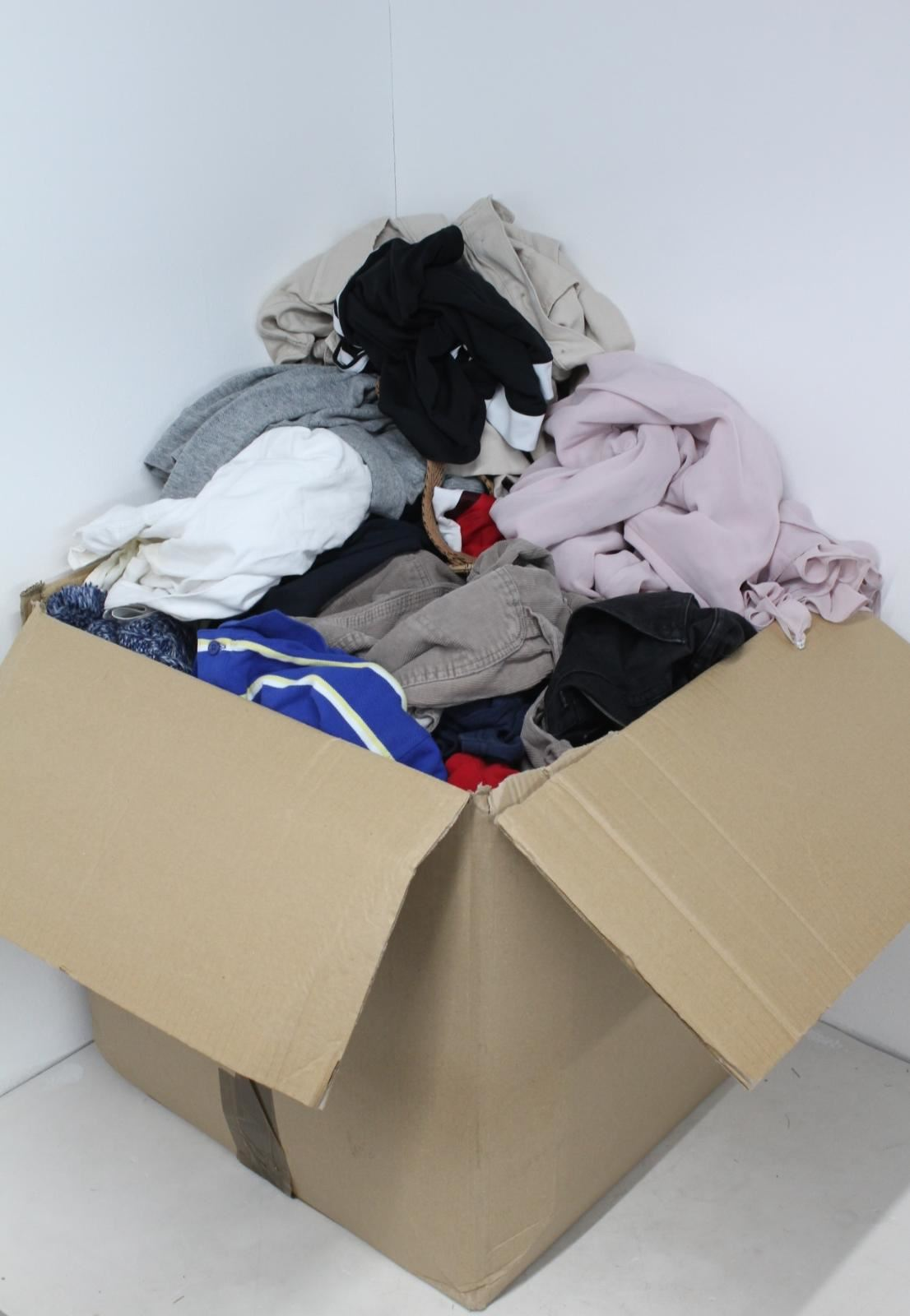 JOB-LOT-Men-039-s-Womens-Fashion-Clothing-20-034-x20-034-Box-Mixed-Type-amp-Size