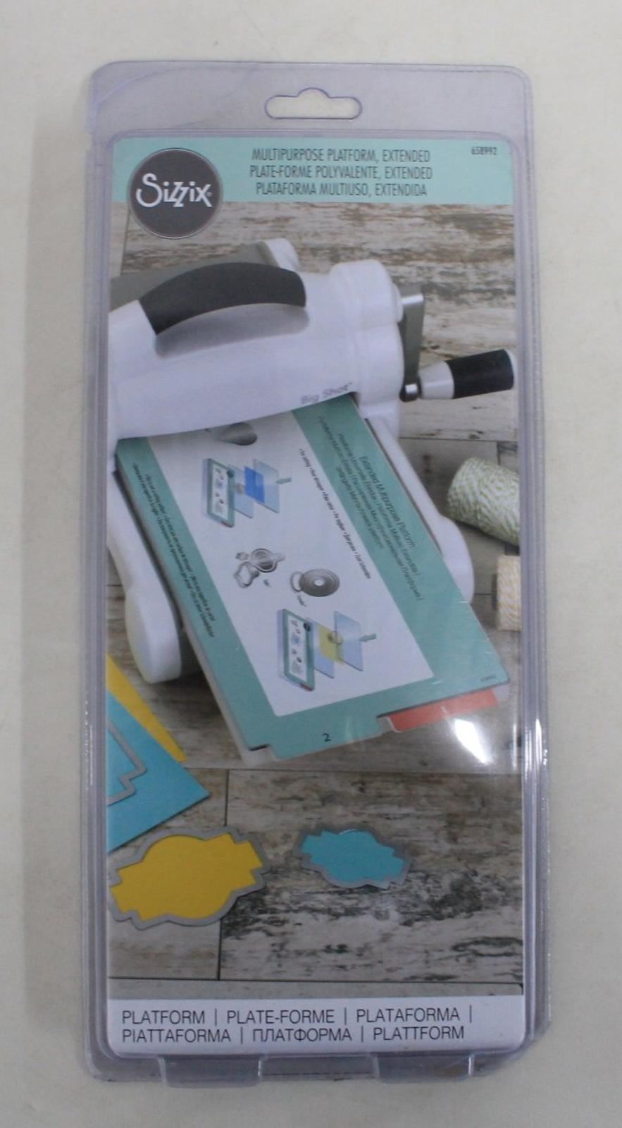 Multi Color Sizzix Multipurpose Extended Platform 658992 One Size